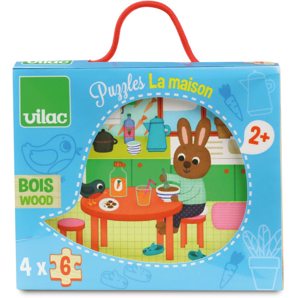 Mes premiers jouets Puzzles La Maison Puzzles La Maison