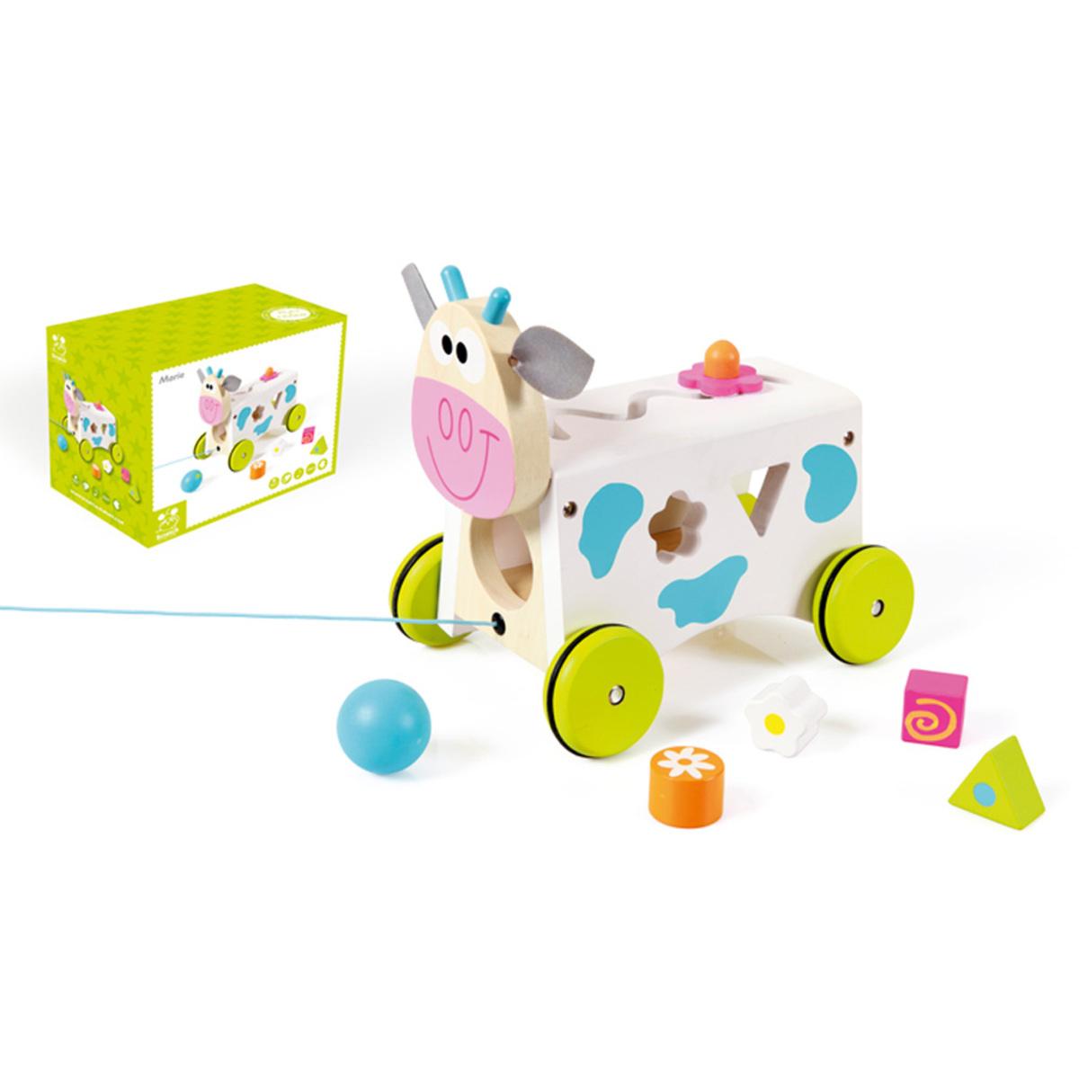 Mes premiers jouets Chariot Multi-Activités Vache Marie