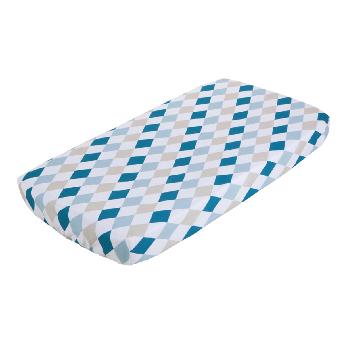 little dutch drap housse pour berceau 40 x 80 cm lozenge linge de lit little dutch sur l. Black Bedroom Furniture Sets. Home Design Ideas