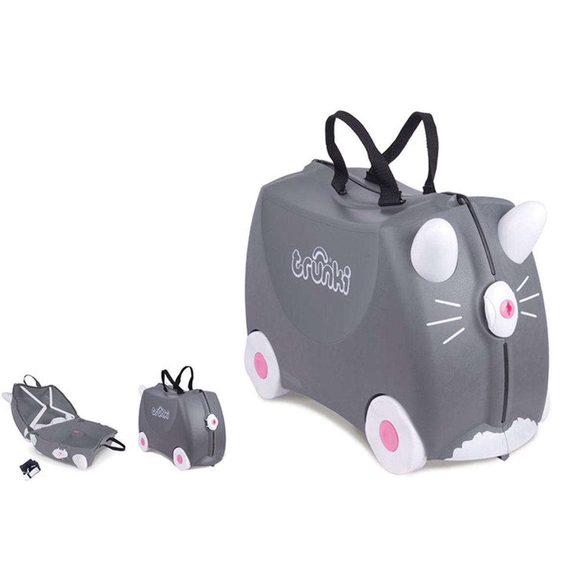 valise chat benny 9220180 achat vente bagagerie enfant sur. Black Bedroom Furniture Sets. Home Design Ideas
