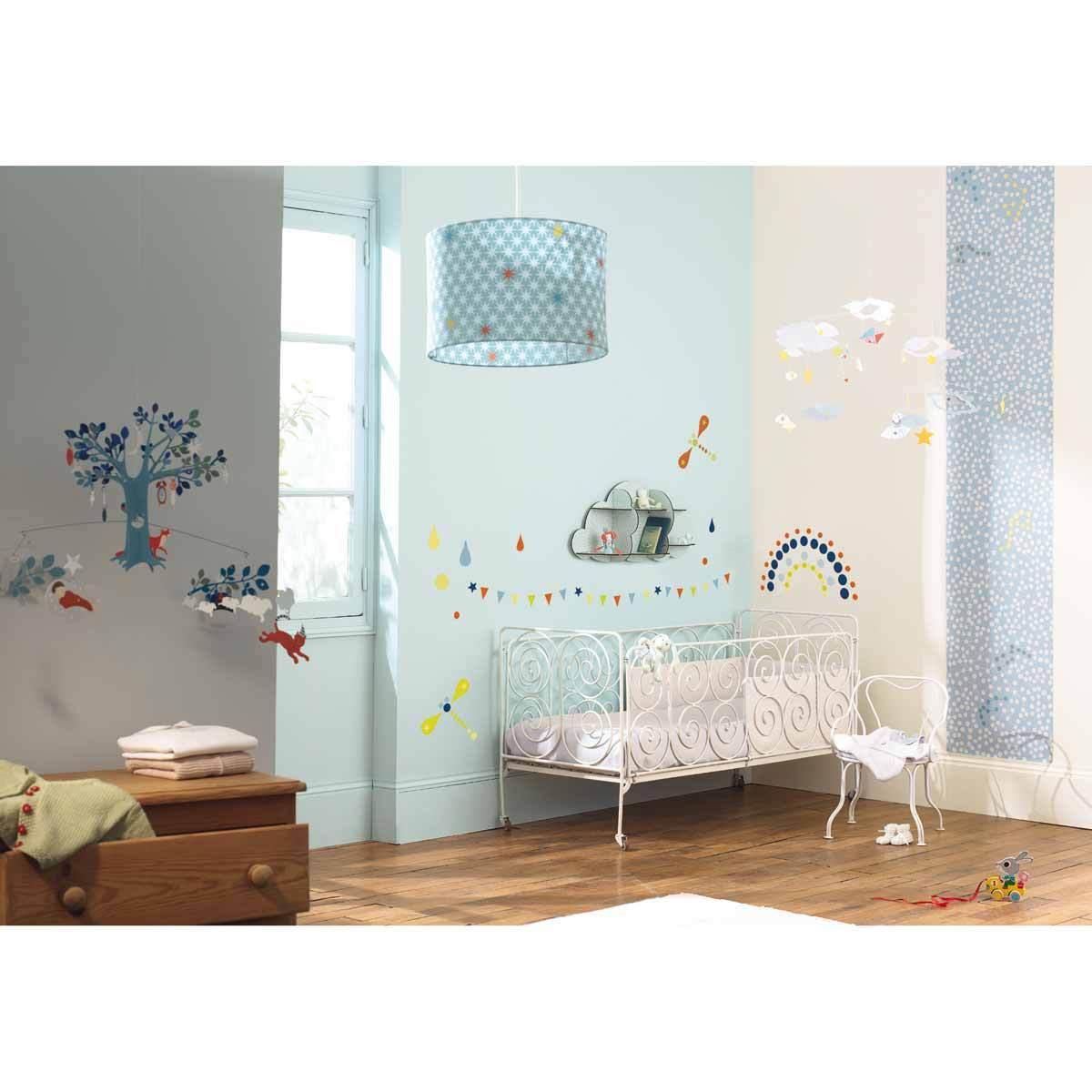 little big room stickers muraux petits pois c leste. Black Bedroom Furniture Sets. Home Design Ideas