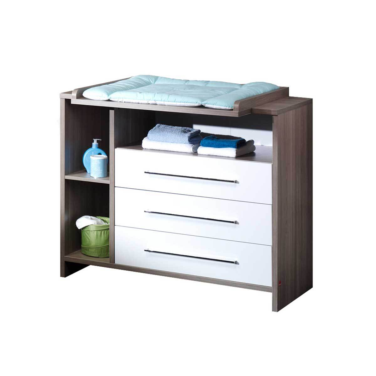 Commode b b table langer eco wildeiche 055559800 for Table a langer sur commode