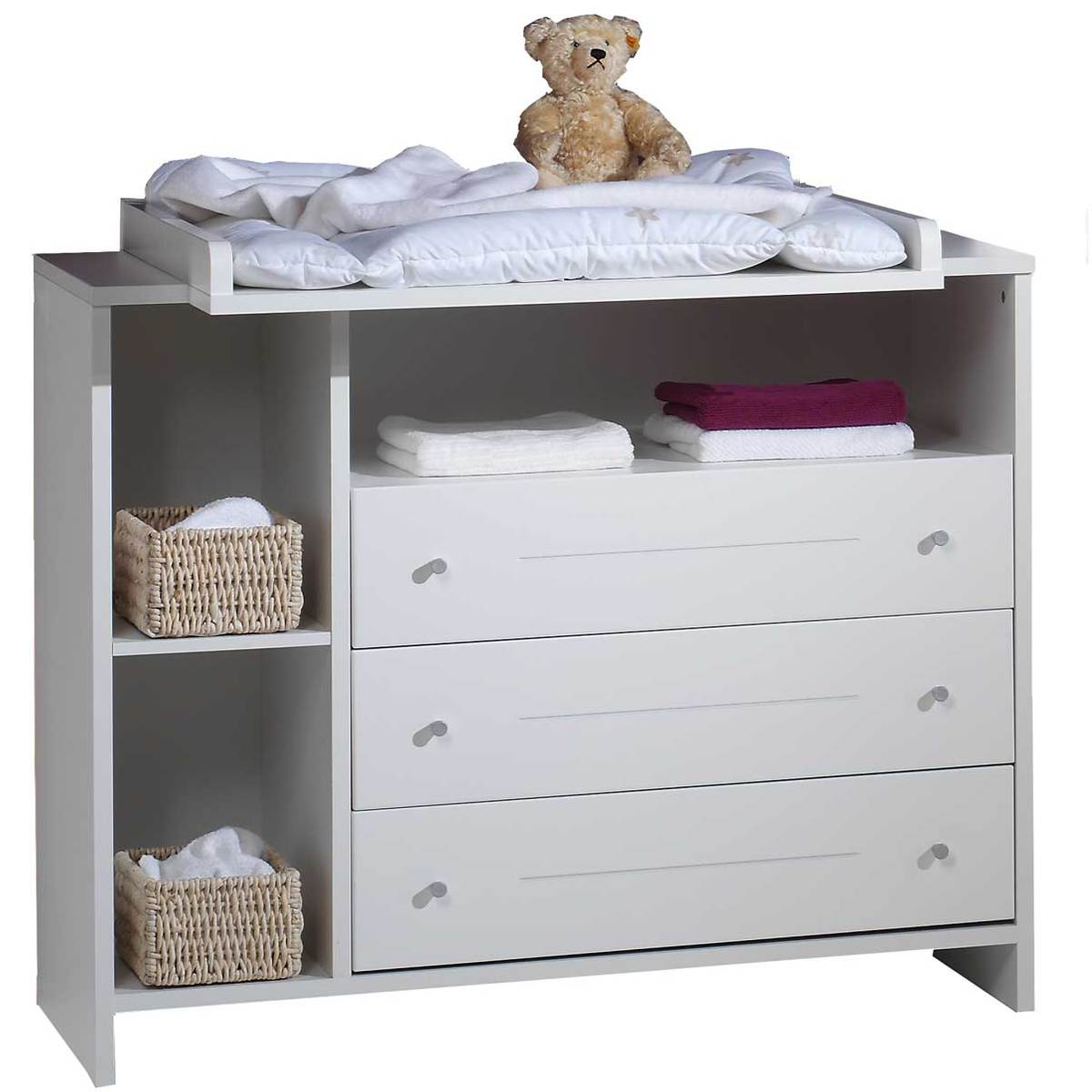 Commode b b table langer eco stripe 055505202 achat for Commode pour bebe