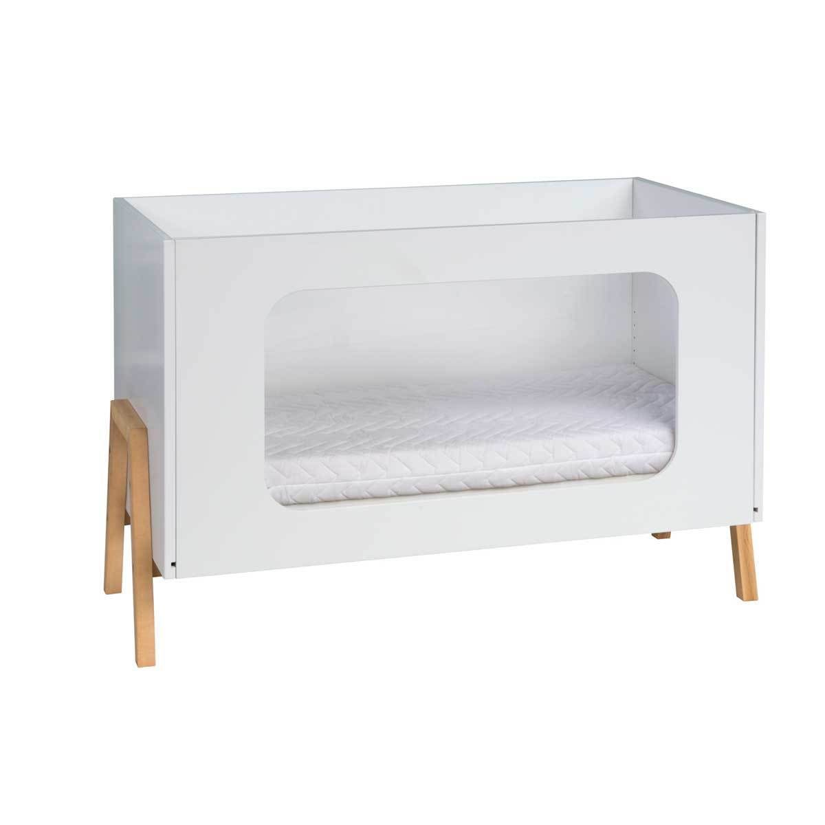 Lit b b 60 x 120 cm holly nature 039200201 achat - Lit enfant ajustable ...
