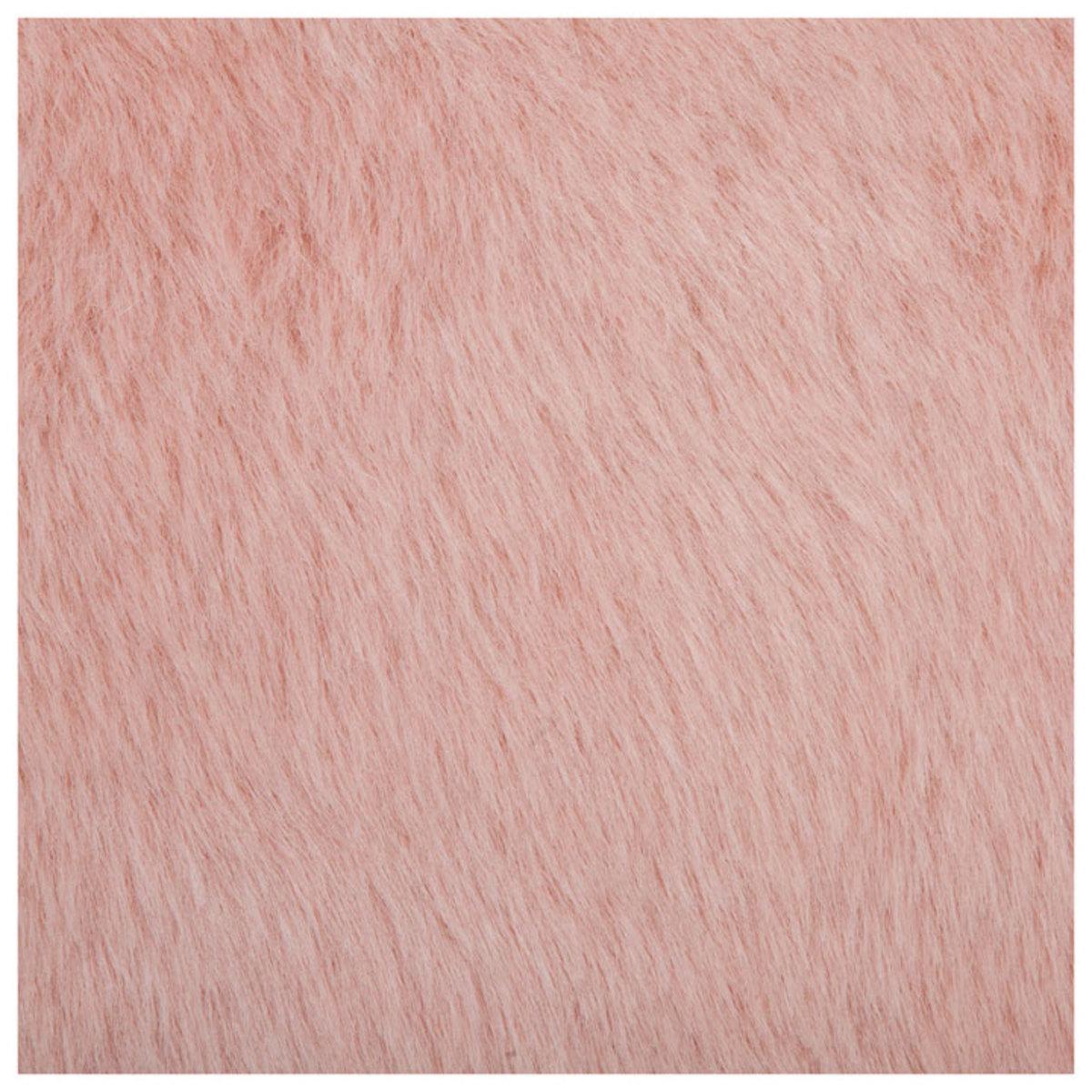 tapis nuage fausse fourrure rose poudr 130 x 90 cm nuage poudr achat vente tapis sur. Black Bedroom Furniture Sets. Home Design Ideas