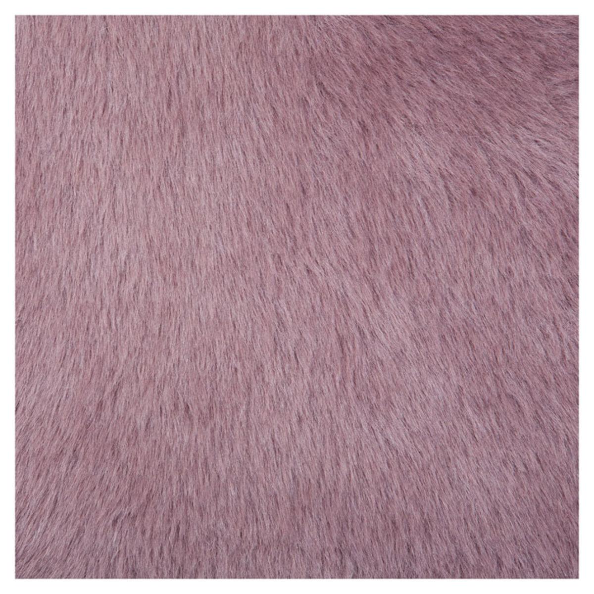 pilepoil tapis rond en fausse fourrure mauve gris 140 cm tapis pilepoil sur l 39 armoire de b b. Black Bedroom Furniture Sets. Home Design Ideas