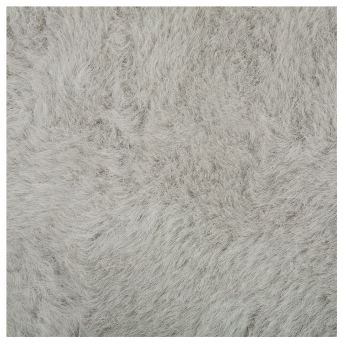 tapis rond fausse fourrure gris clair 140 cm rond gris achat vente tapis sur. Black Bedroom Furniture Sets. Home Design Ideas