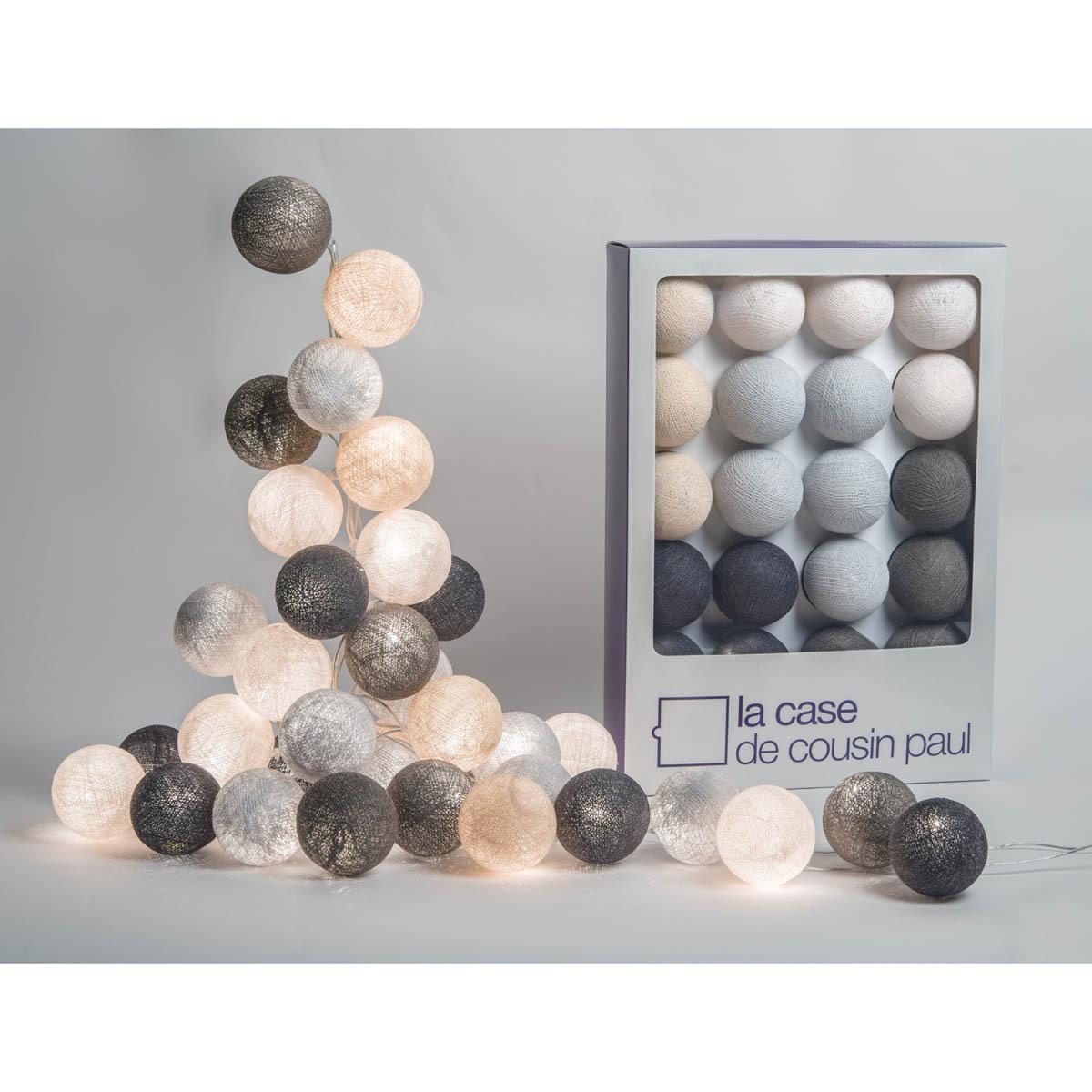 Guirlande Lumineuse BROOKLYN - 20 boules