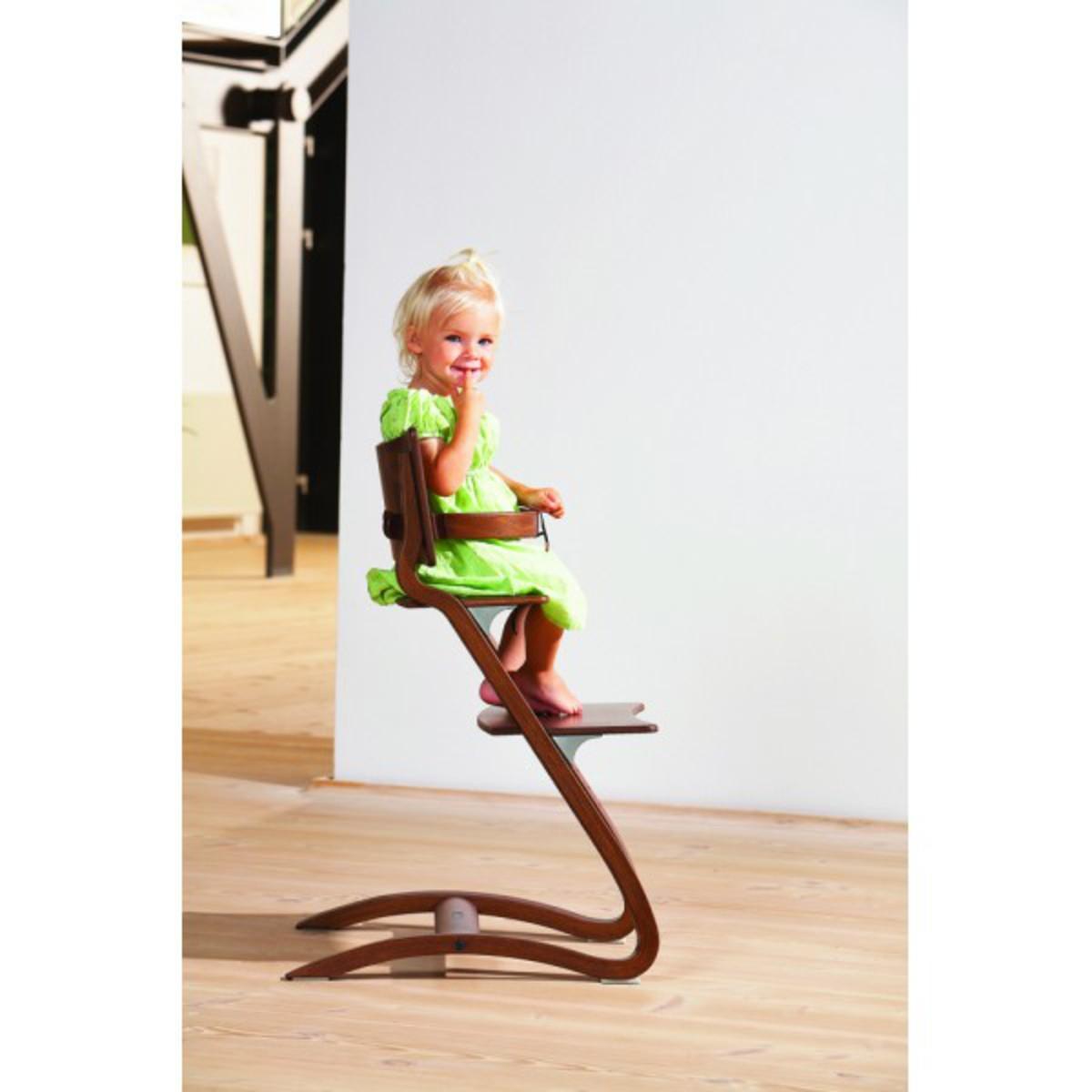 Chaise haute evolutive noyer chanoy achat vente chaise haute sur larm - Chaise haute modulable ...