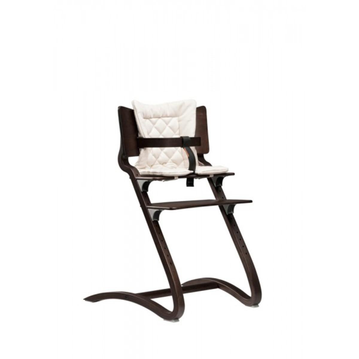 leander coussins pour chaise haute vanille chaise haute leander sur l 39 armoire de b b. Black Bedroom Furniture Sets. Home Design Ideas