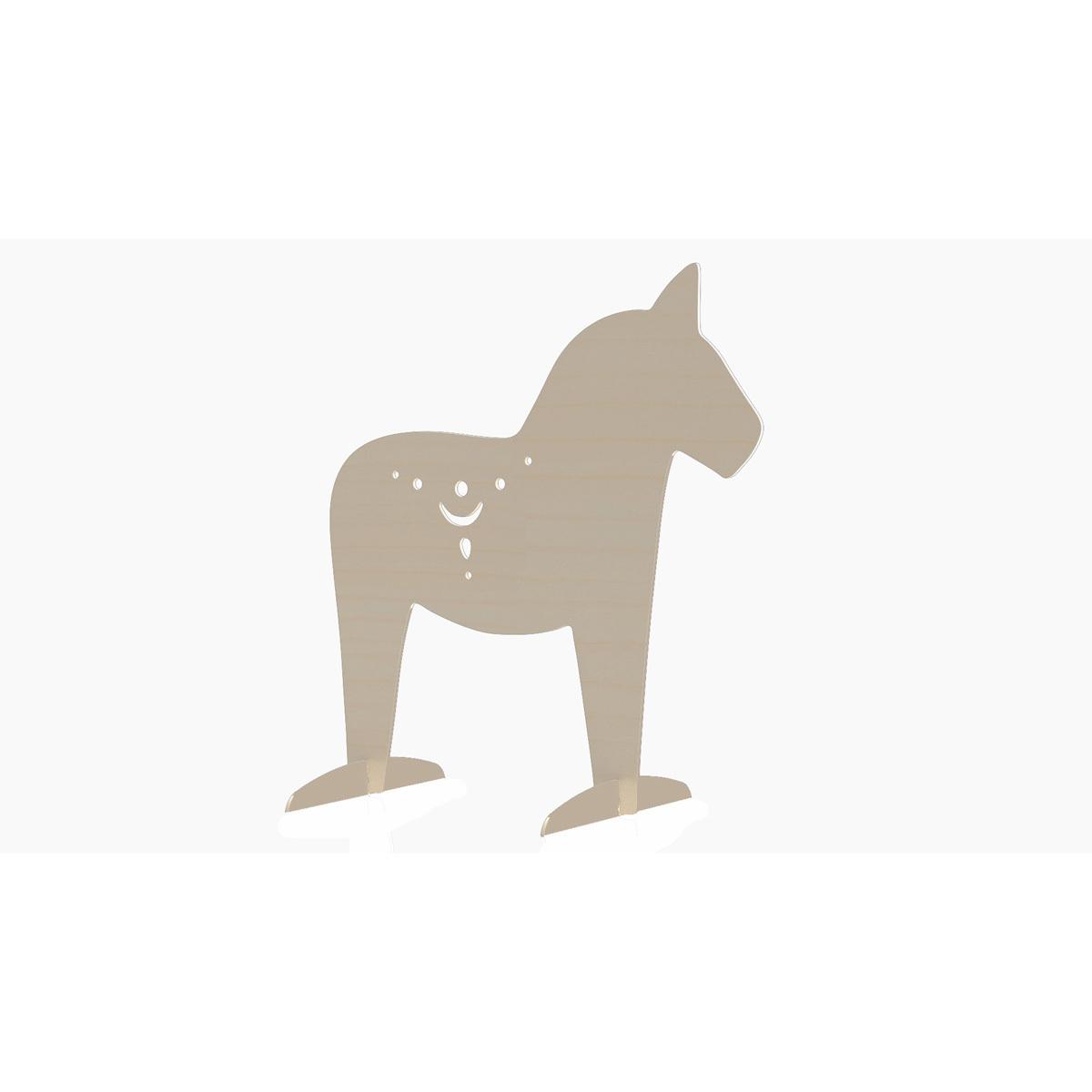 Bj rka design s parateur de chambre cheval objet d coration bj rka design sur l 39 armoire de b b for Separateur de chambre