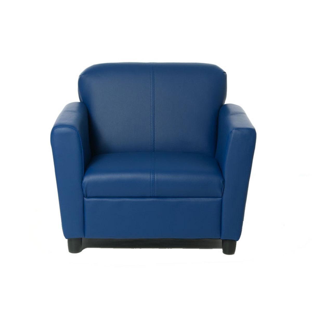 Fauteuil chester   bleu (w080) : achat / vente fauteuil sur ...