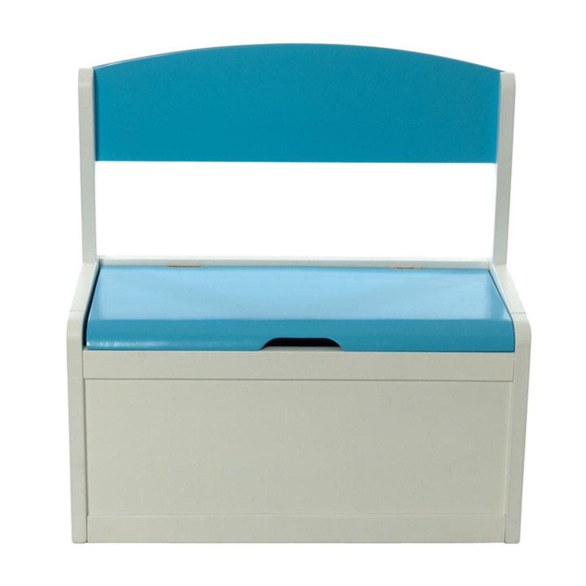 nouveau produit a0f34 bafb0 Coffre à jouets Fabio XL - bleu