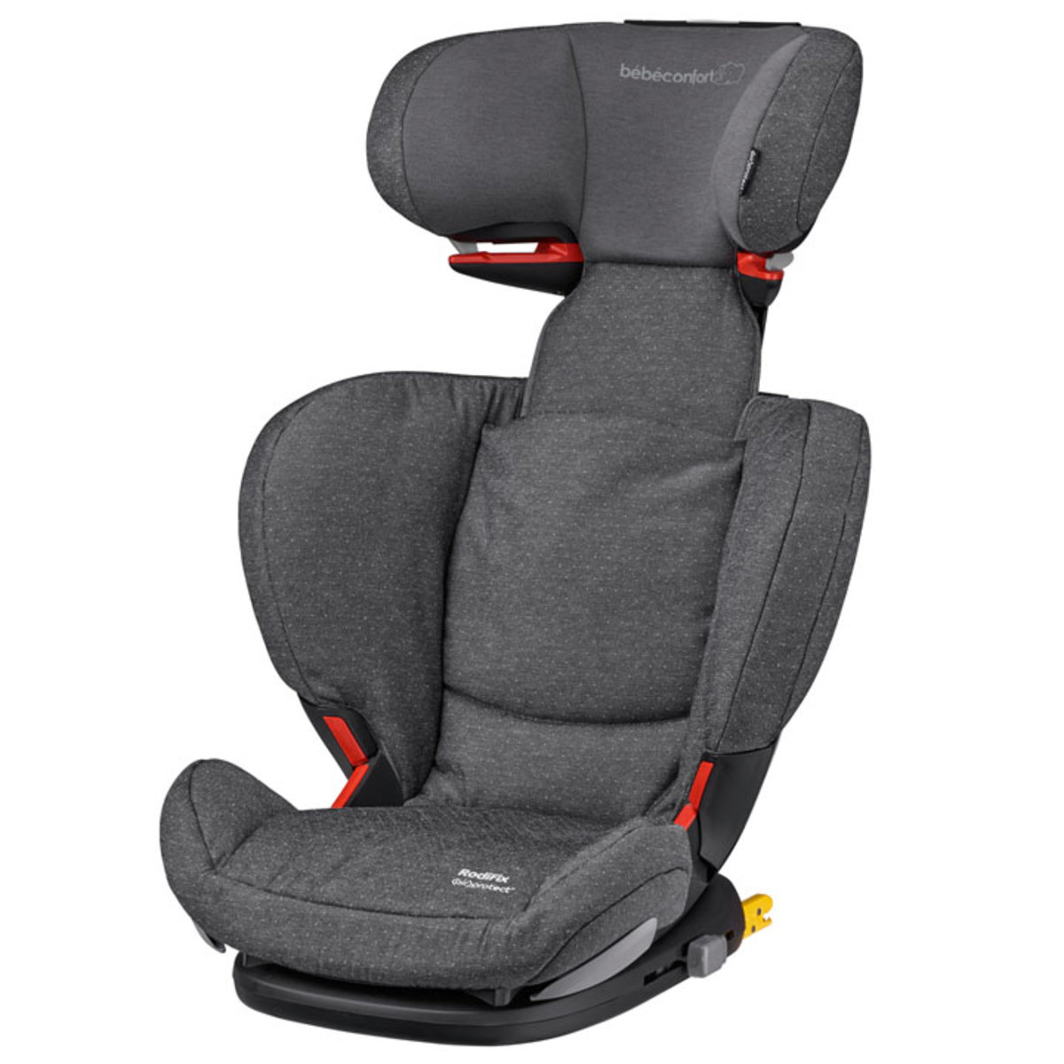 b b confort si ge auto rodifix air protect isofix groupe 2 3 sparkling grey si ge auto et. Black Bedroom Furniture Sets. Home Design Ideas
