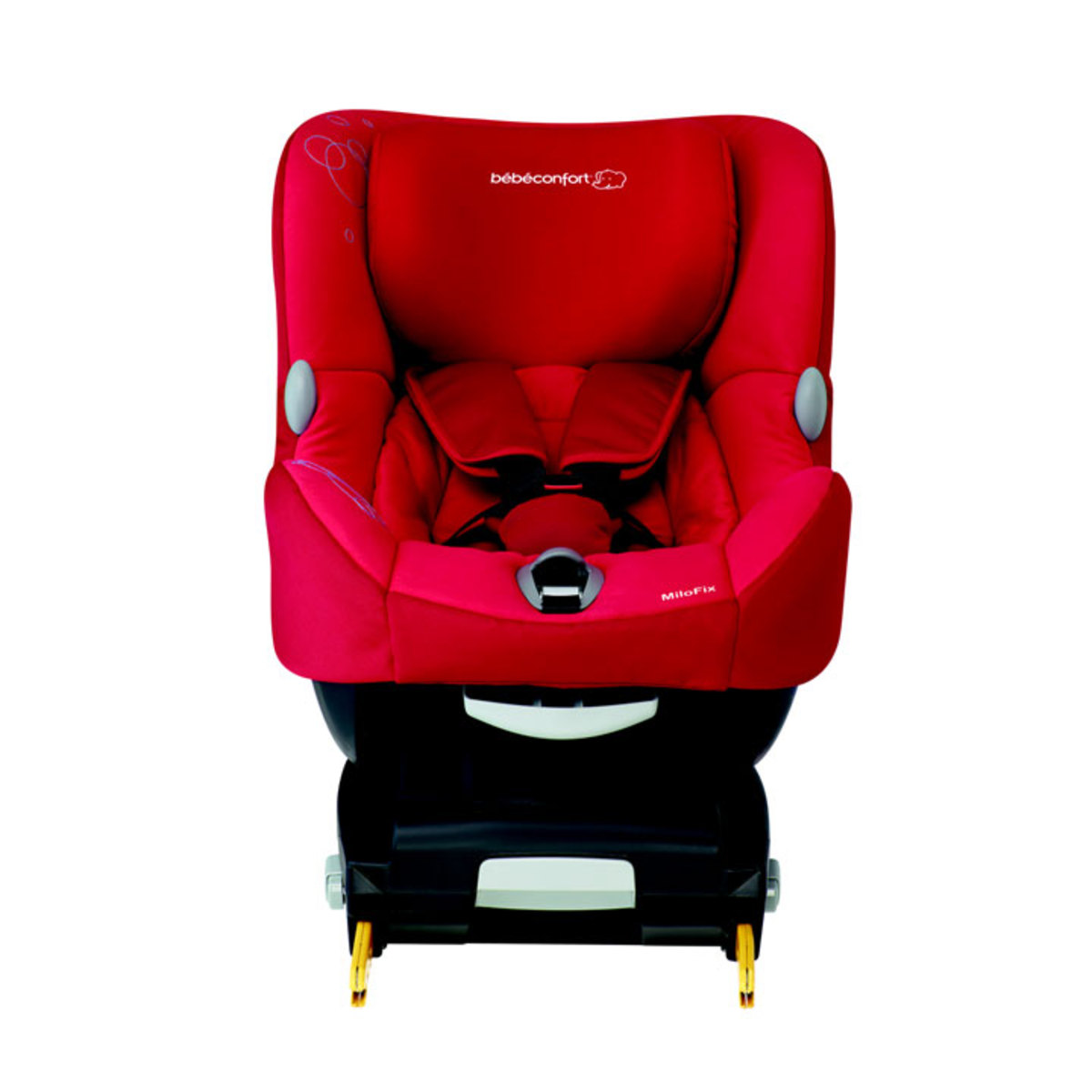 Si ge auto isofix milofix groupe 0 1 earth brown for Achat siege auto isofix