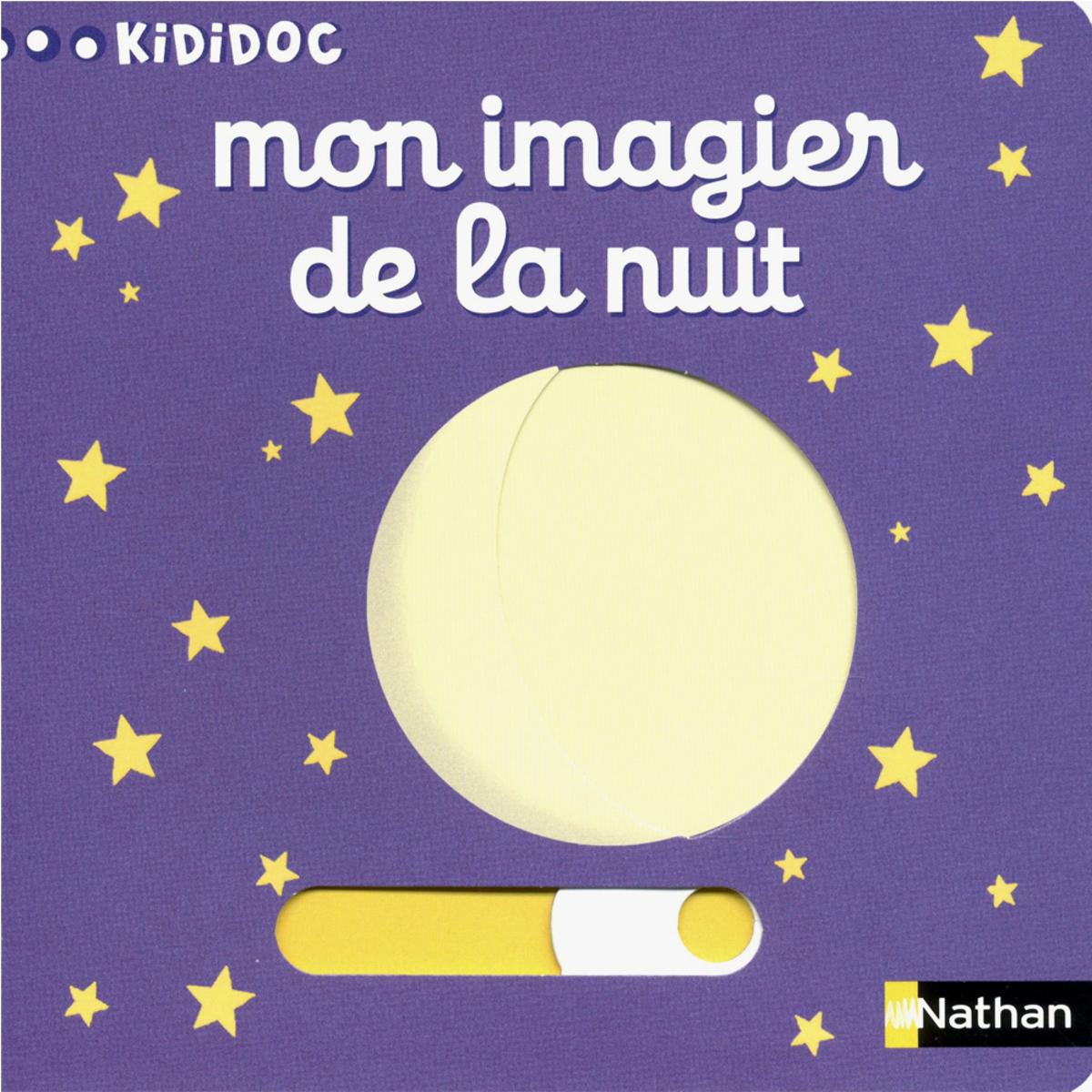 Livre & Carte Mon Imagier de la Nuit Mon Imagier de la Nuit