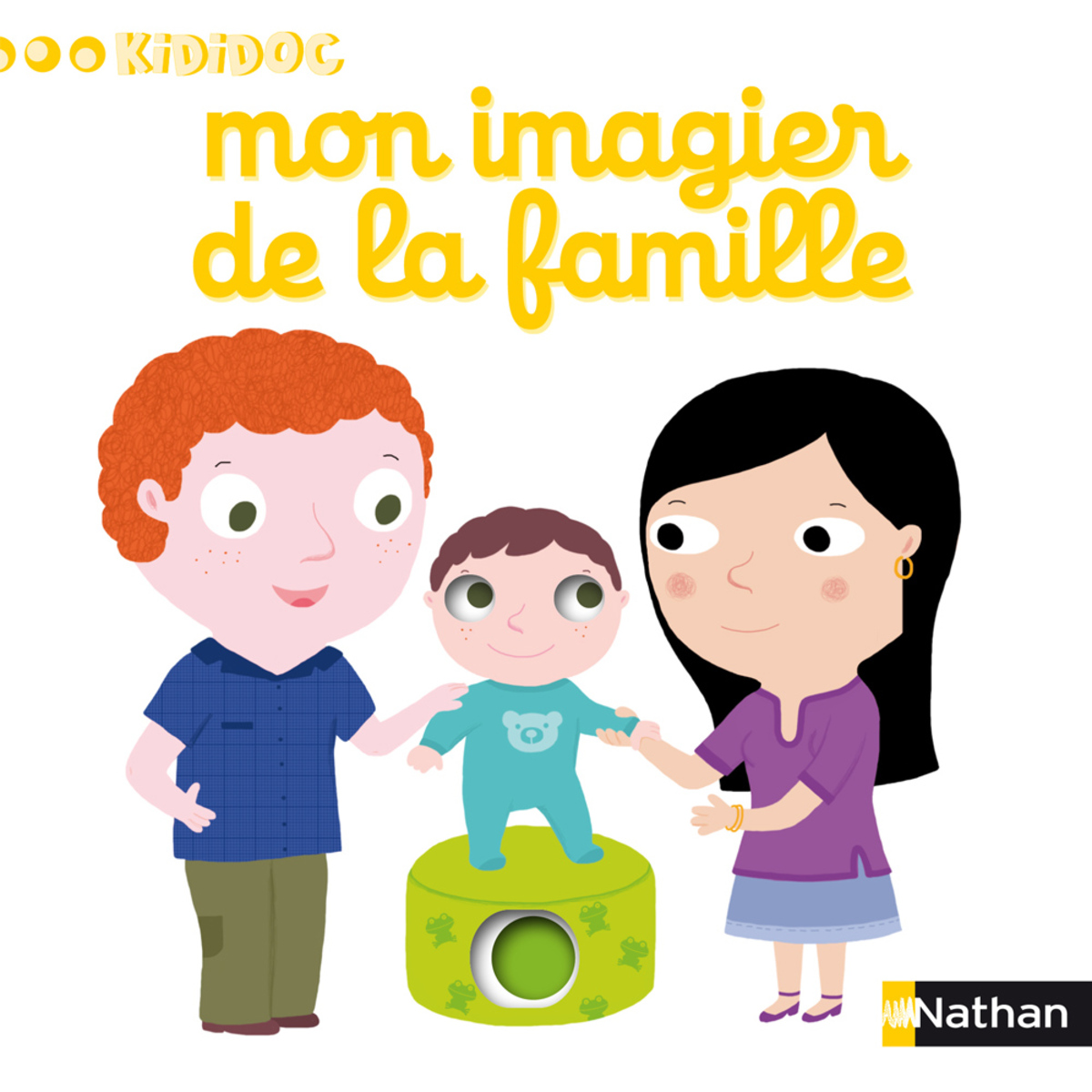 Livre & Carte Mon Imagier de la Famille Mon Imagier de la Famille