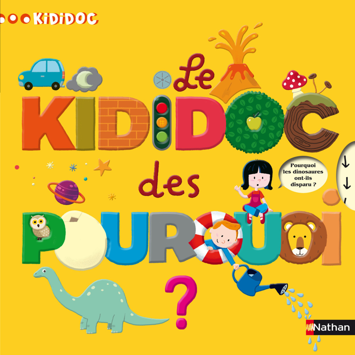 Livre & Carte Le Kididoc des Pourquoi Le Kididoc des Pourquoi