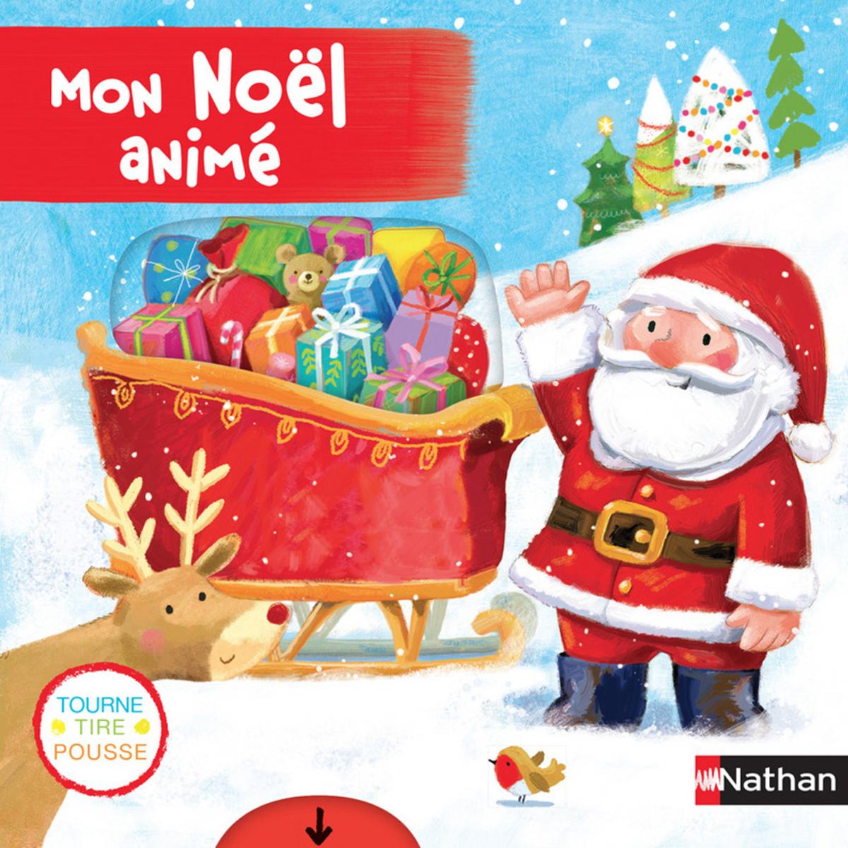 Livre & Carte Mon Noël Animé Mon Noël Animé