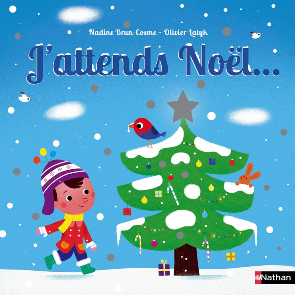 Livre & Carte J'attends Noël J'attends Noël