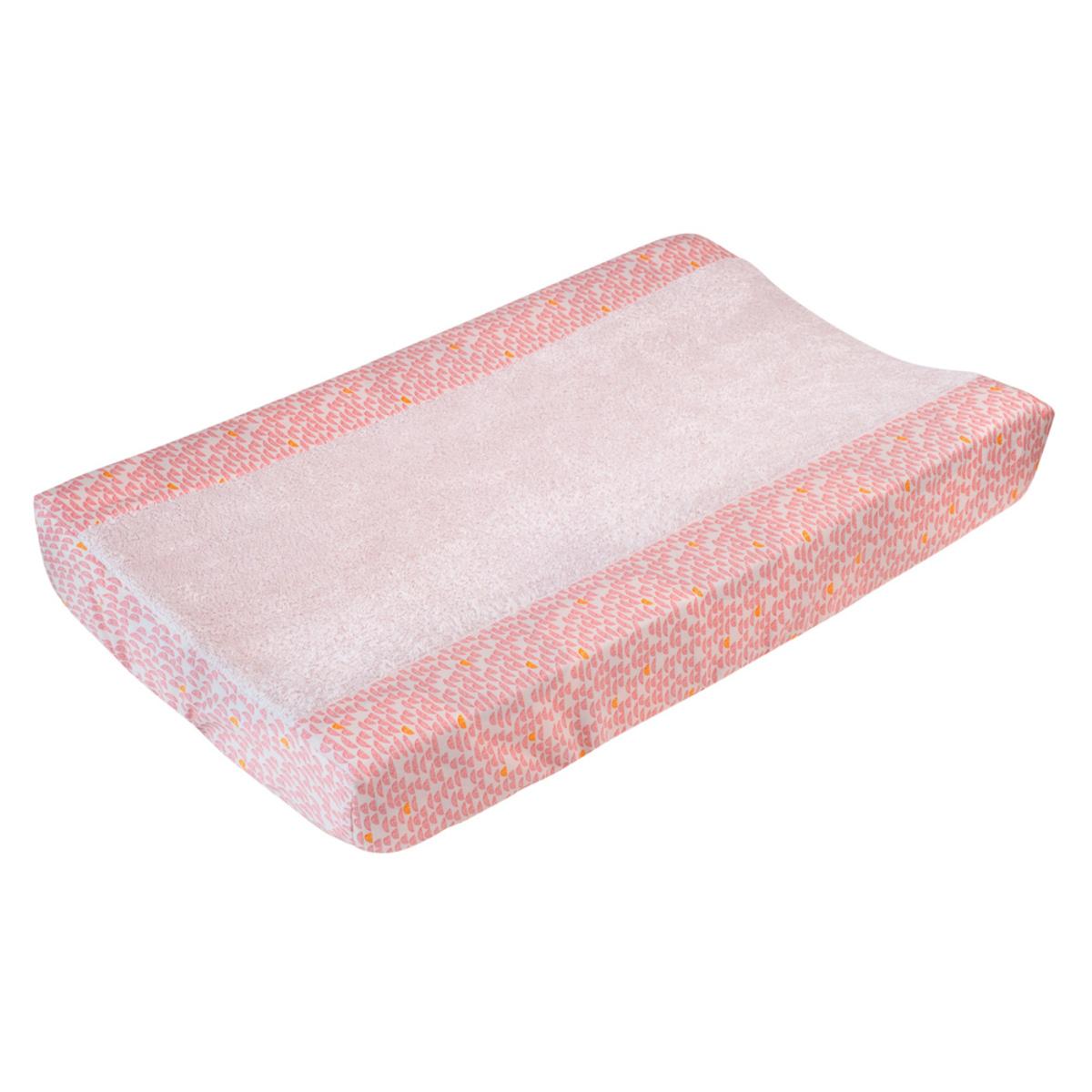 trixie baby housse de matelas langer pebble pink taille l matelas et housse langer. Black Bedroom Furniture Sets. Home Design Ideas