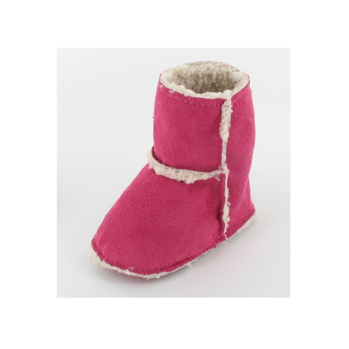 Mon petit chausson Bottes Fourrées Colline 3 6 mois - Rose - LDLC ... b173b7d86fe0