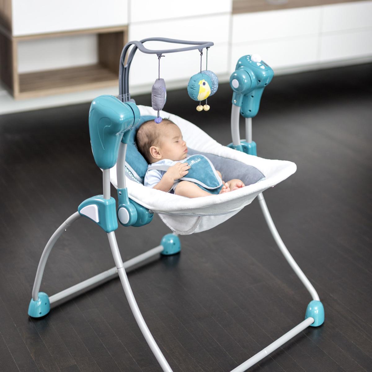 Babymoov balancelle swoon bubble aluminium transat - L armoire de bebe ...