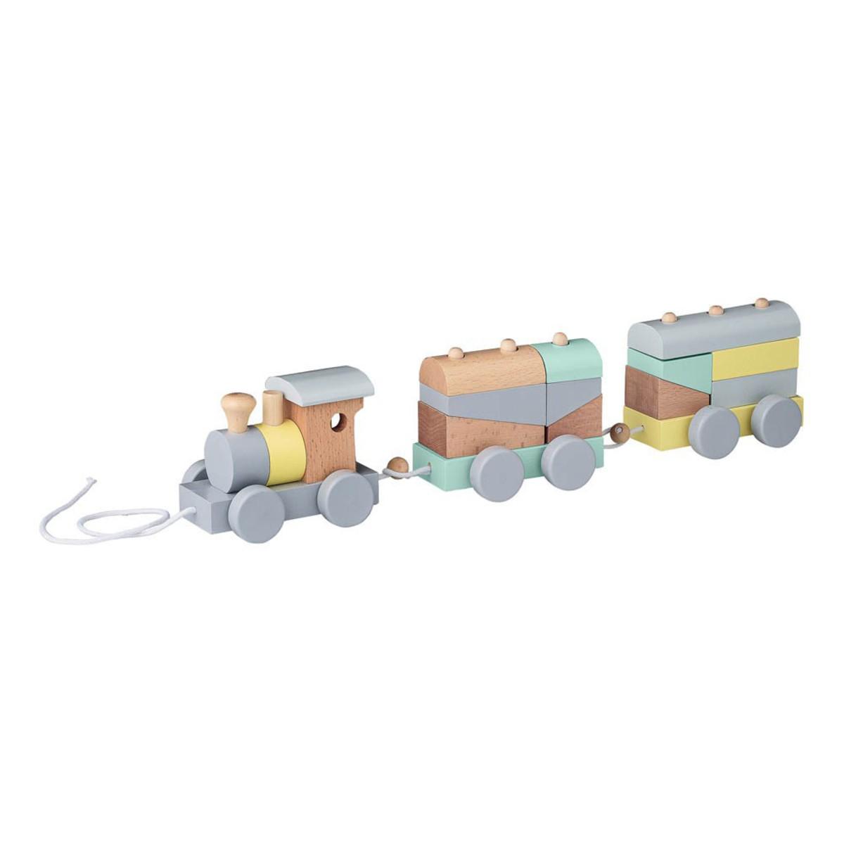 Mes premiers jouets Petit Train à Tirer Pastel Petit Train à Tirer Pastel