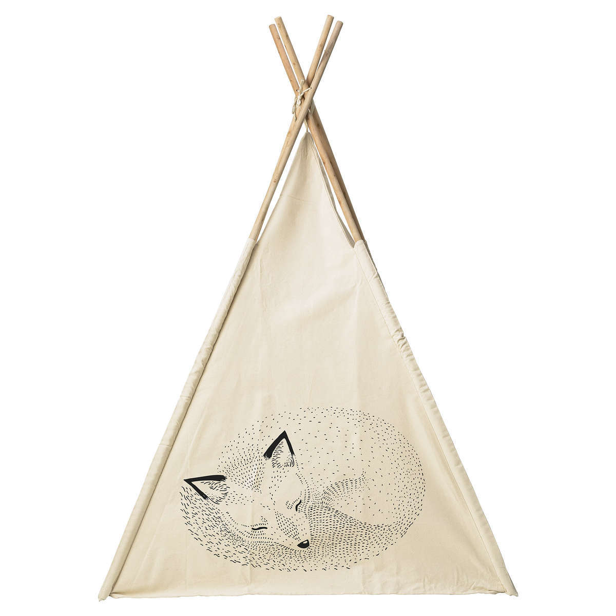 tipi ecru sleeping animals 54300000 achat vente tapis d 39 veil sur. Black Bedroom Furniture Sets. Home Design Ideas