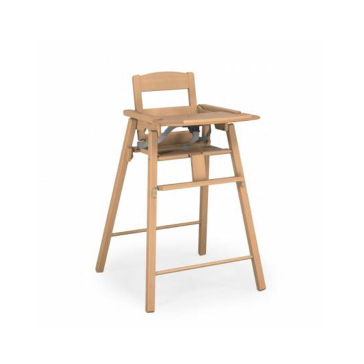 chaise haute pliante naturel 20056100 achat vente chaise haute sur. Black Bedroom Furniture Sets. Home Design Ideas