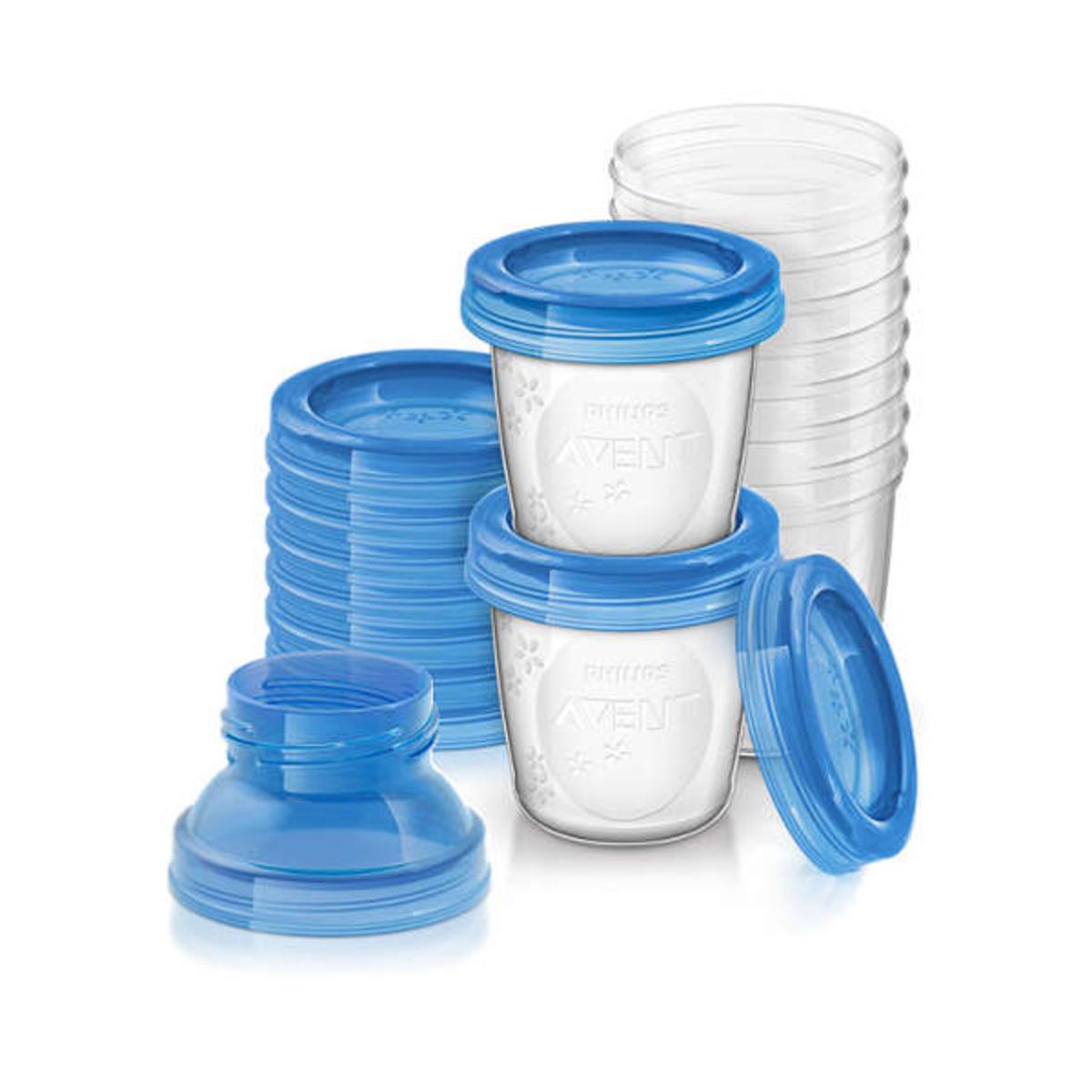 Tire-lait 10 Pots de Conservation pour Lait Maternel 10 Pots de Conservation pour Lait Maternel