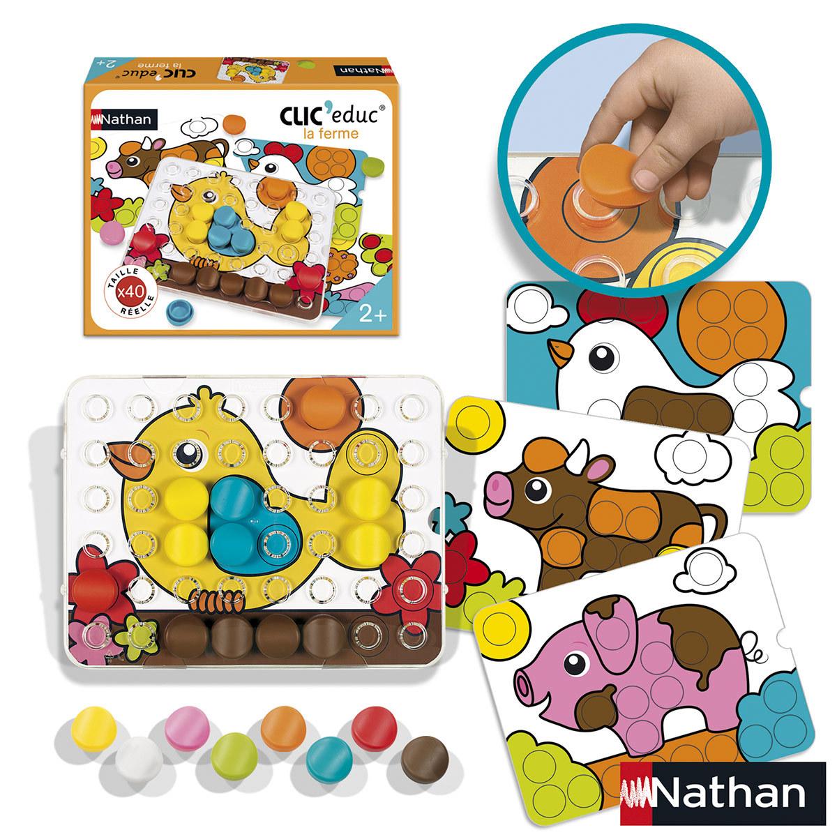 Mes premiers jouets Clic' educ La Ferme Clic' educ La Ferme