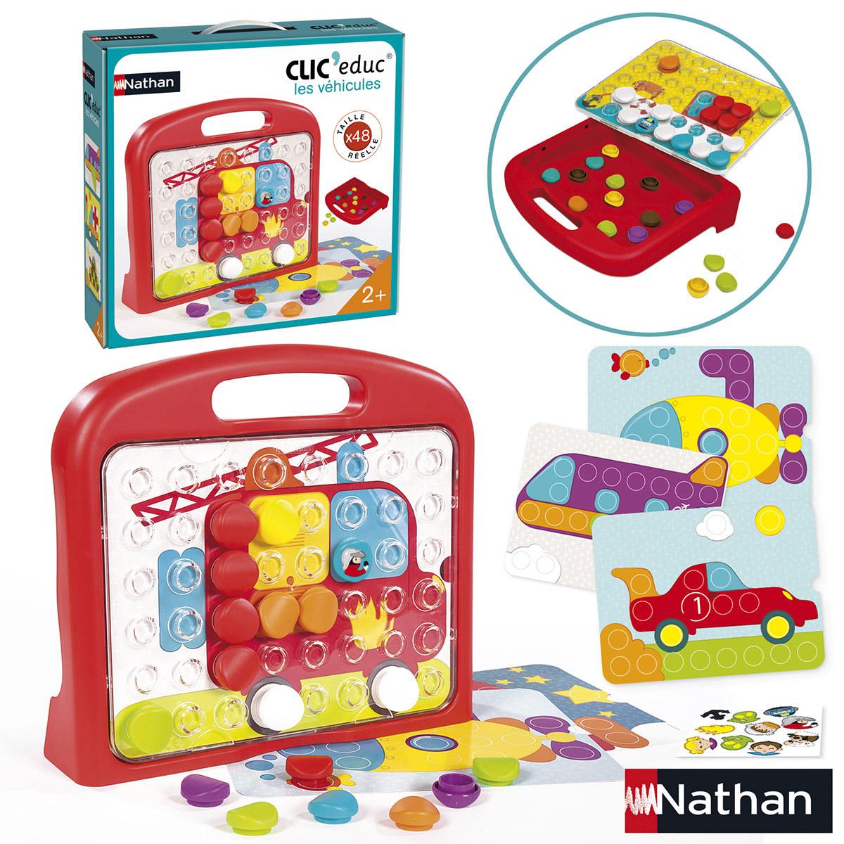Mes premiers jouets Clic' educ Véhicules Clic' educ Véhicules