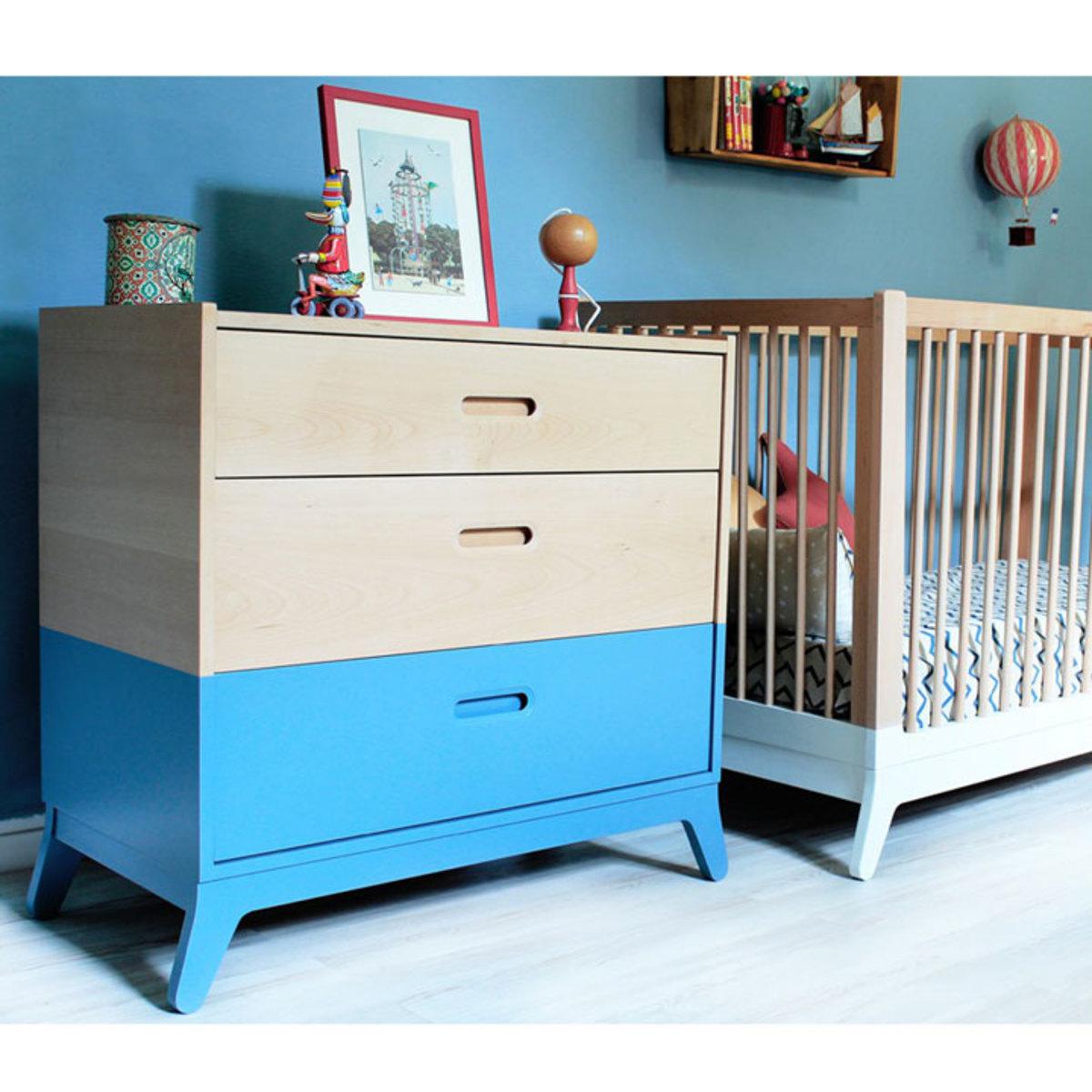 commode horizon bleu thalassa 2000000034751 achat vente commode sur. Black Bedroom Furniture Sets. Home Design Ideas