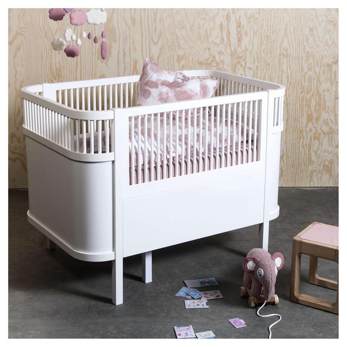 acheter lit bb lit volutif sebra bed blanc - Bebe Lit Evolutif
