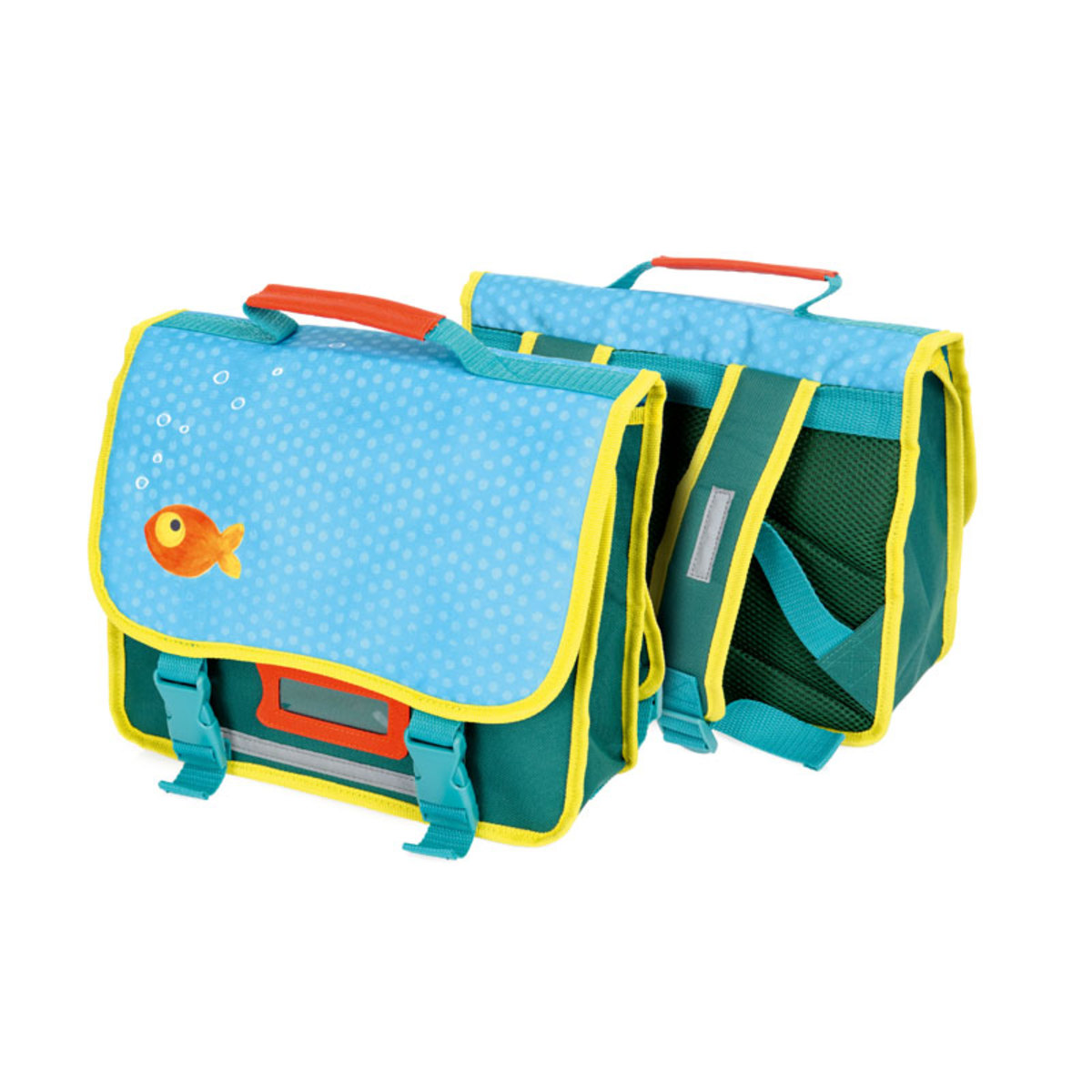 Cartable poisson rouge 410230 achat vente bagagerie for Vente poisson rouge montpellier