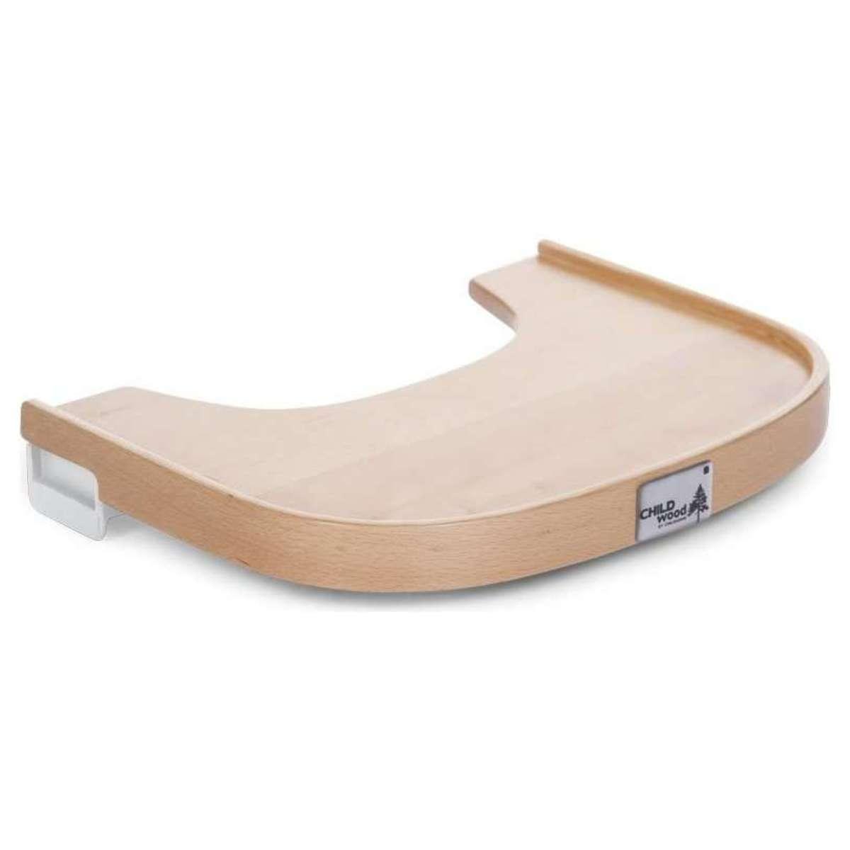 childwood tablette pour chaise haute naturel chaise haute childwood sur l 39 armoire de b b. Black Bedroom Furniture Sets. Home Design Ideas