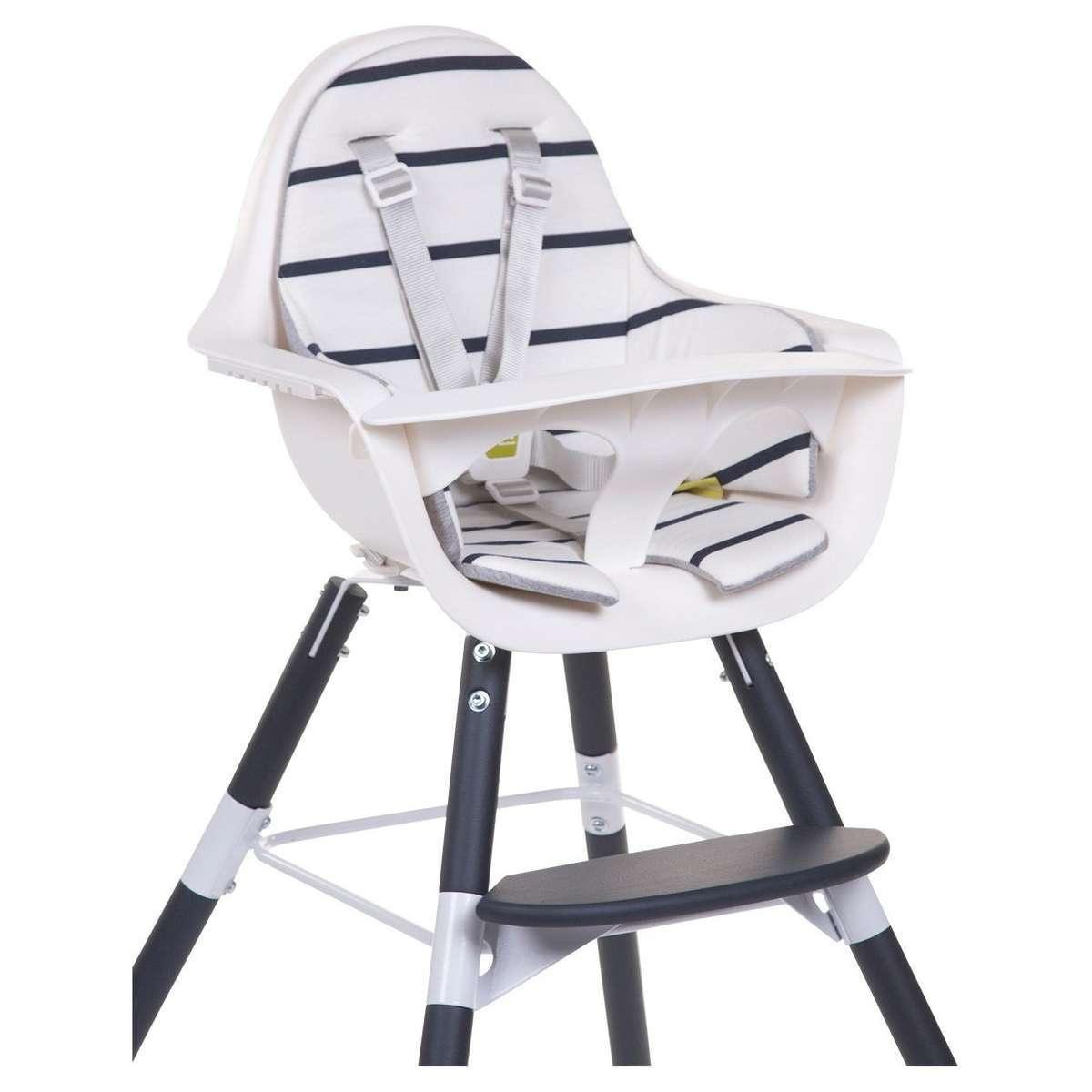 childwood coussin pour chaise haute evolu 2 marin. Black Bedroom Furniture Sets. Home Design Ideas