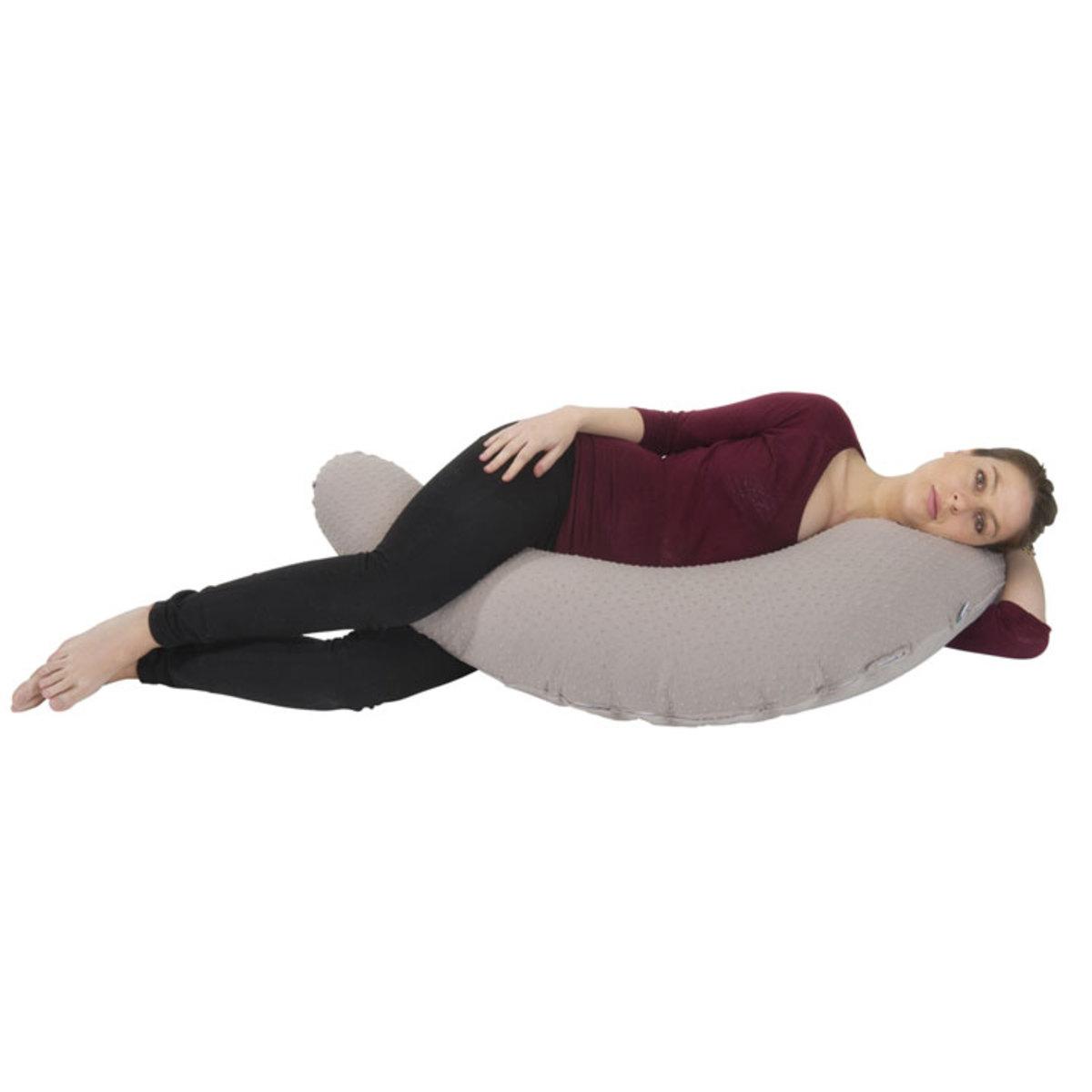 babymoov coussin de maternit plumetis taupe coussin. Black Bedroom Furniture Sets. Home Design Ideas