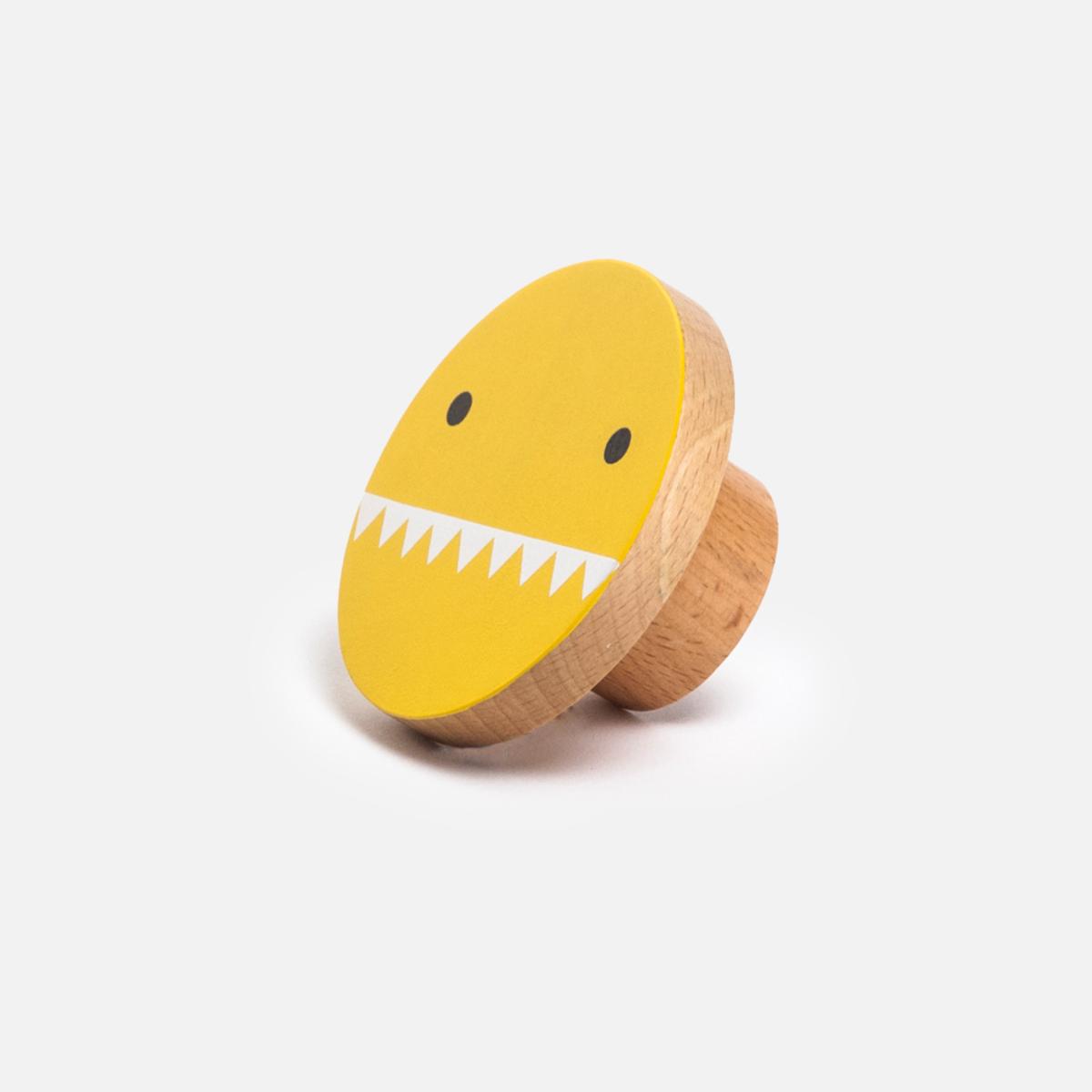Noodoll pat re en bois ricemon jaune porte manteau for Acheter une porte en bois