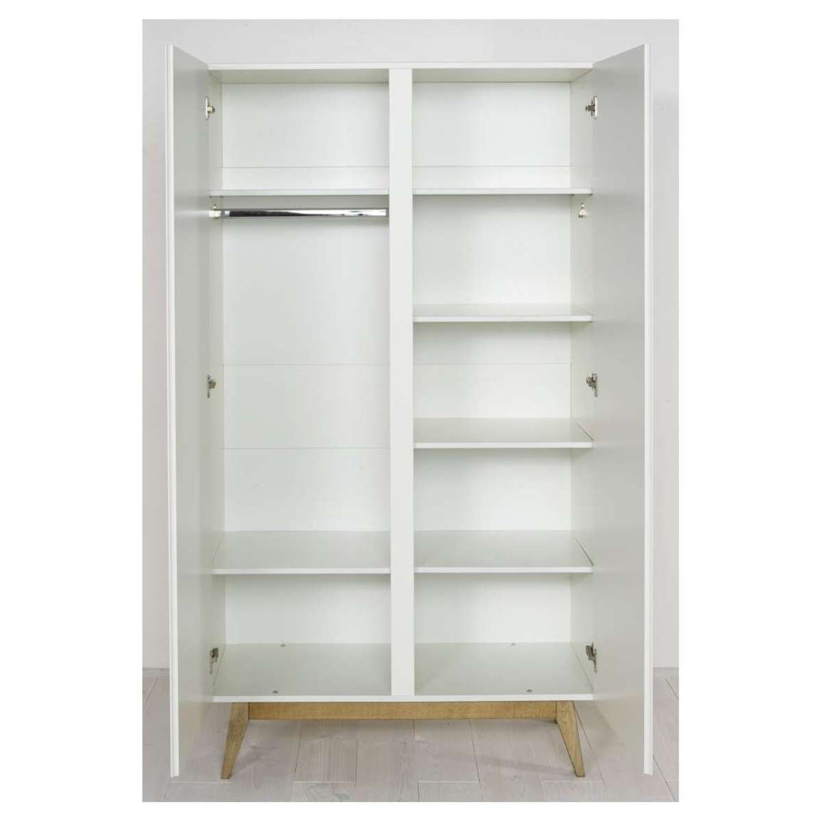 Quax armoire 2 portes trendy blanc armoire quax sur l for Chambre quax trendy