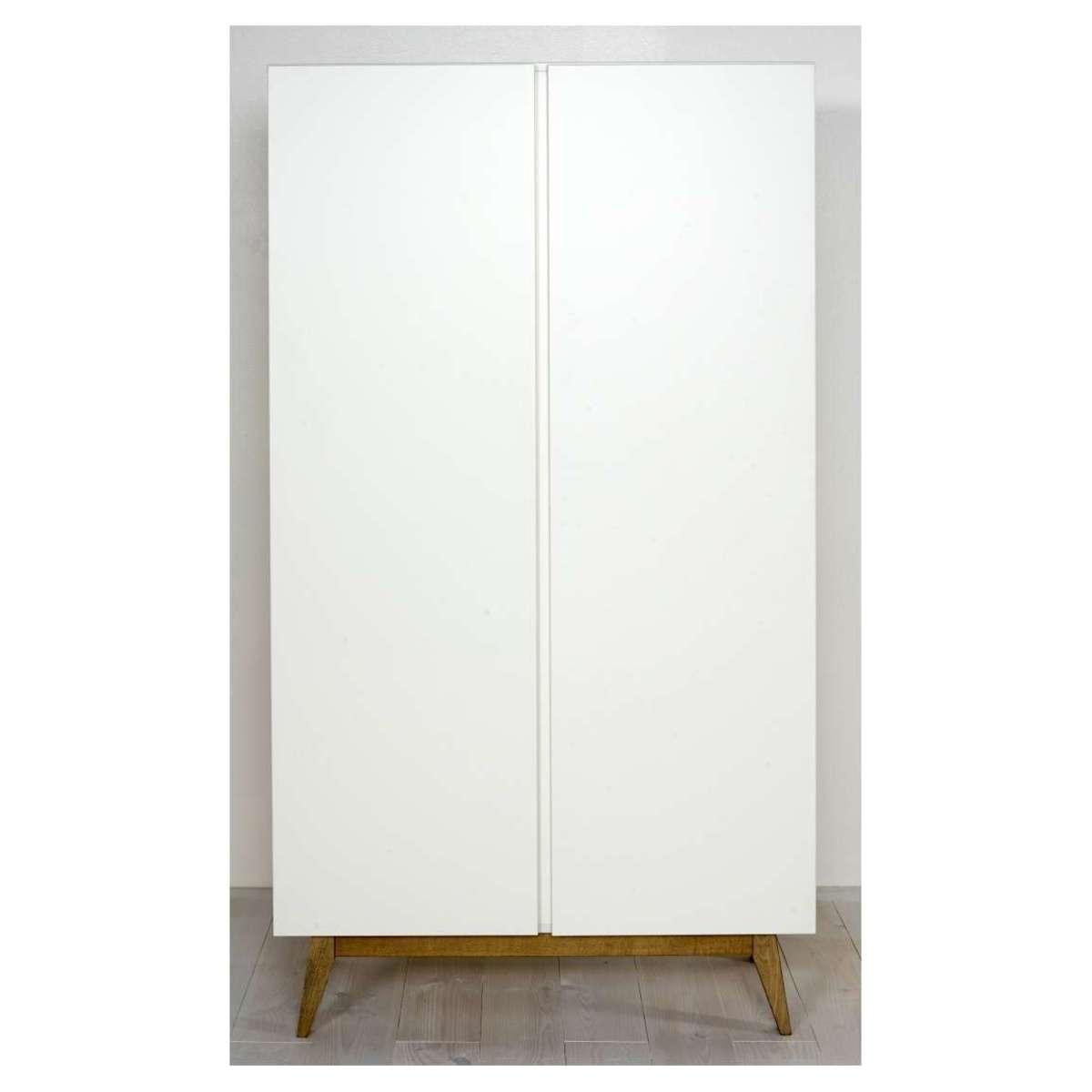 Quax armoire 2 portes trendy blanc armoire quax sur l - L armoire de bebe ...