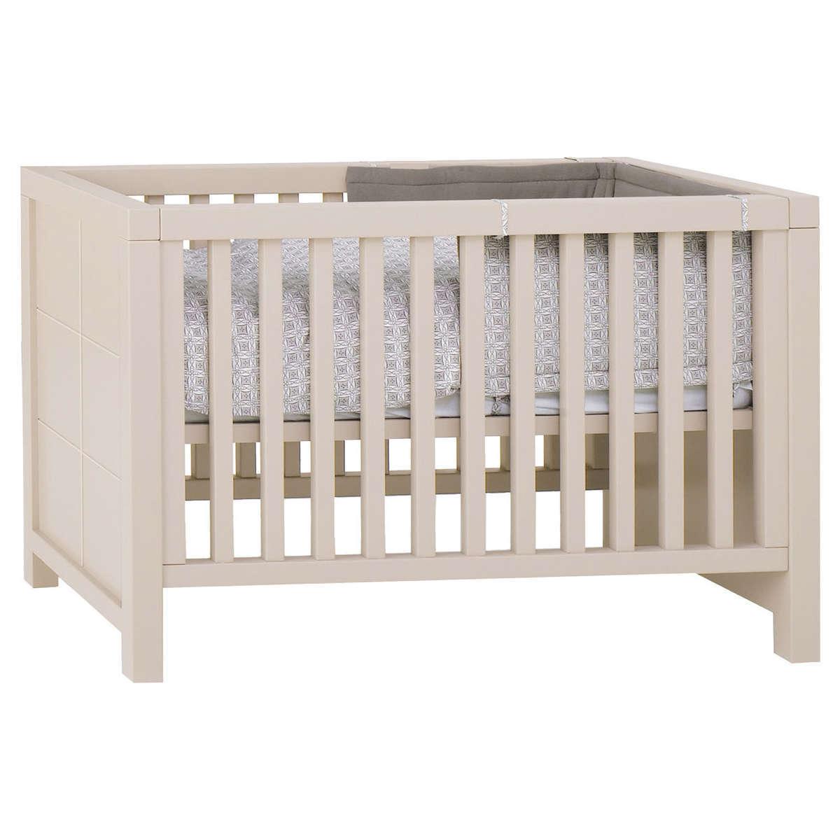 Quax lit b b quarr 120x60 cm grisato lit b b quax - L armoire de bebe ...