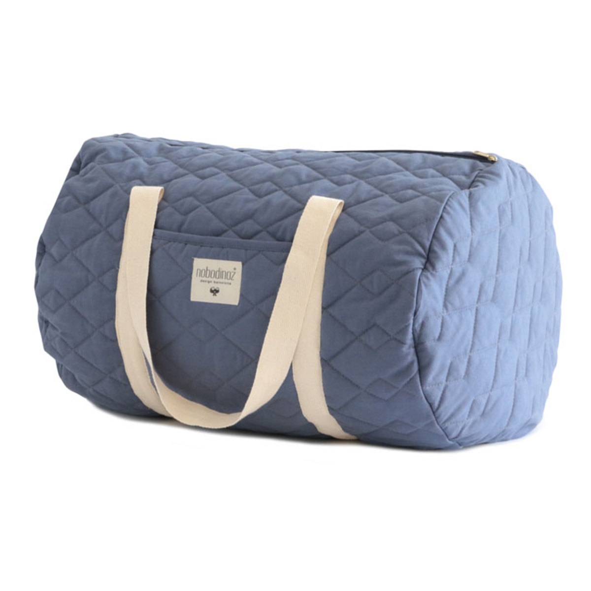 nobodinoz sac week end los angeles pure line bleu oc an sac langer nobodinoz sur l 39 armoire. Black Bedroom Furniture Sets. Home Design Ideas