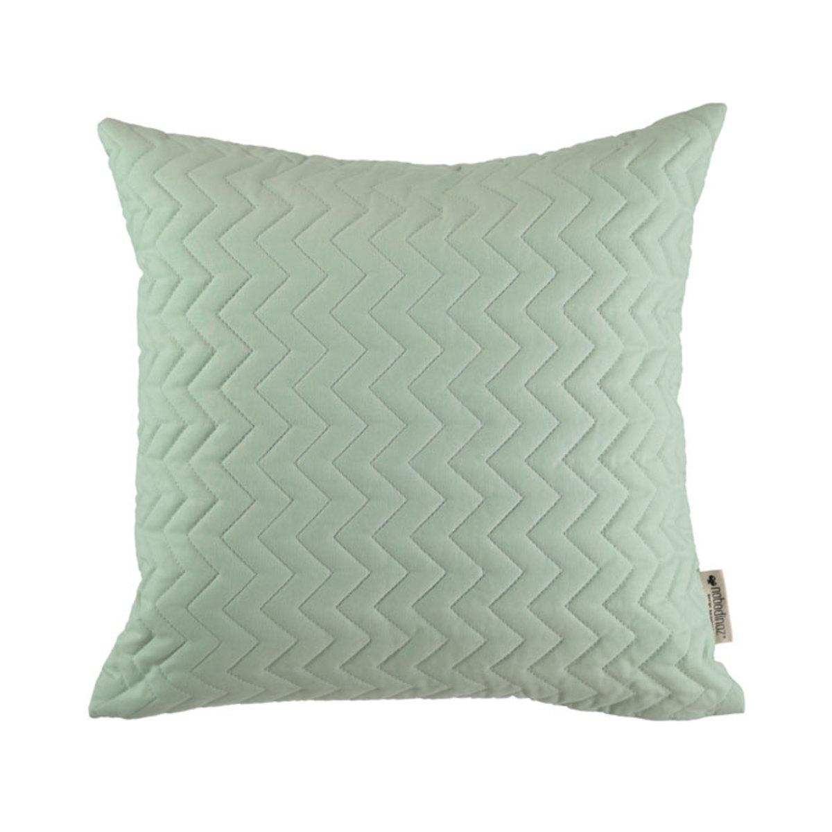 nobodinoz coussin cadaques vert menthe coussin nobodinoz sur l 39 armoire de b b. Black Bedroom Furniture Sets. Home Design Ideas