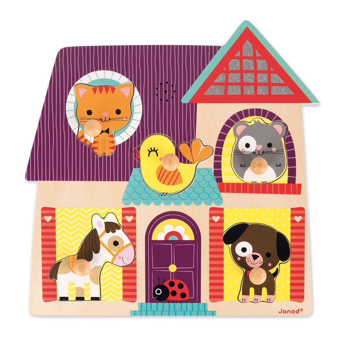 Mes premiers jouets Puzzle Musical Mes Petits Compagnons Puzzle Musical Mes Petits Compagnons