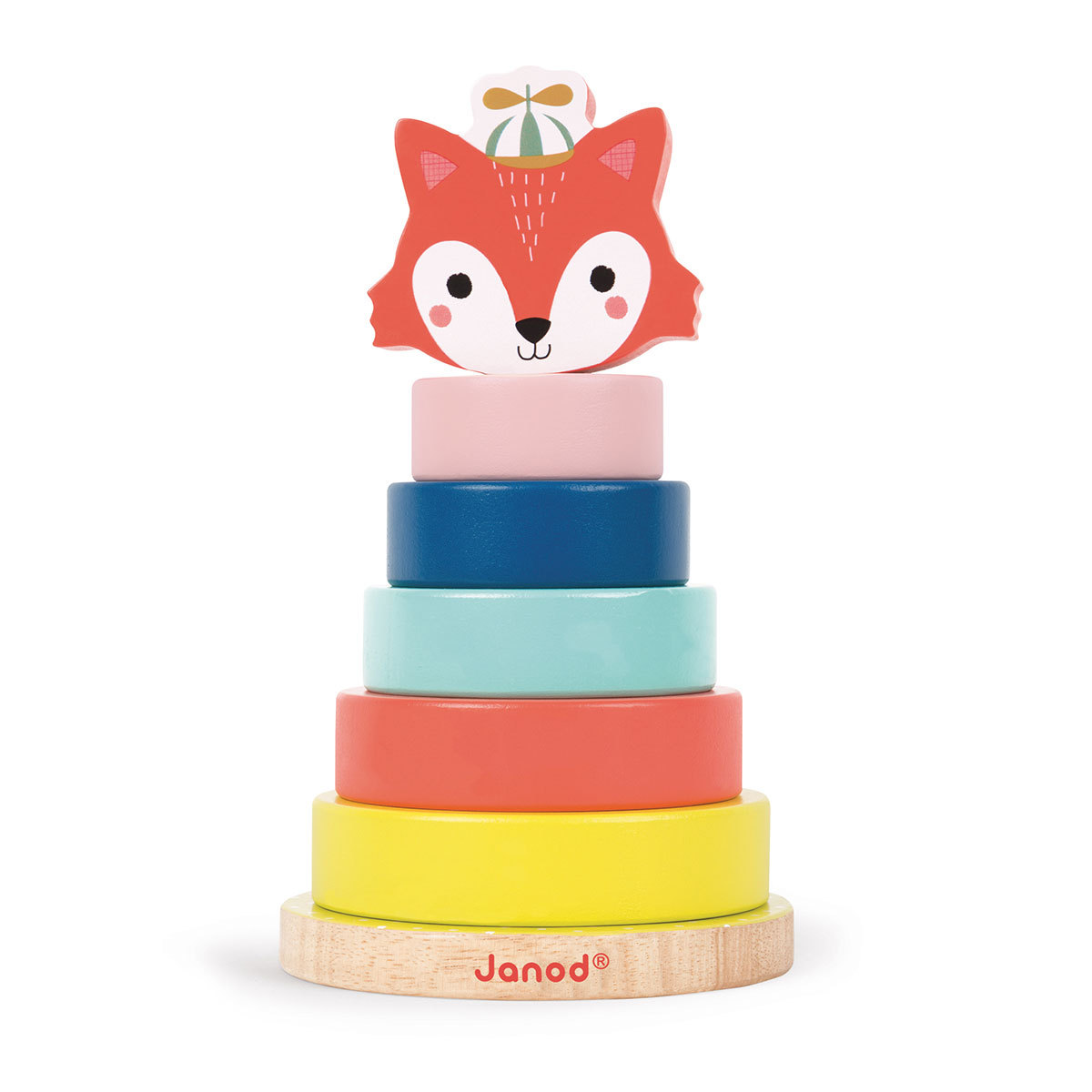Mes premiers jouets Jeu Empilable Renard - Baby Forest Jeu Empilable Renard - Baby Forest