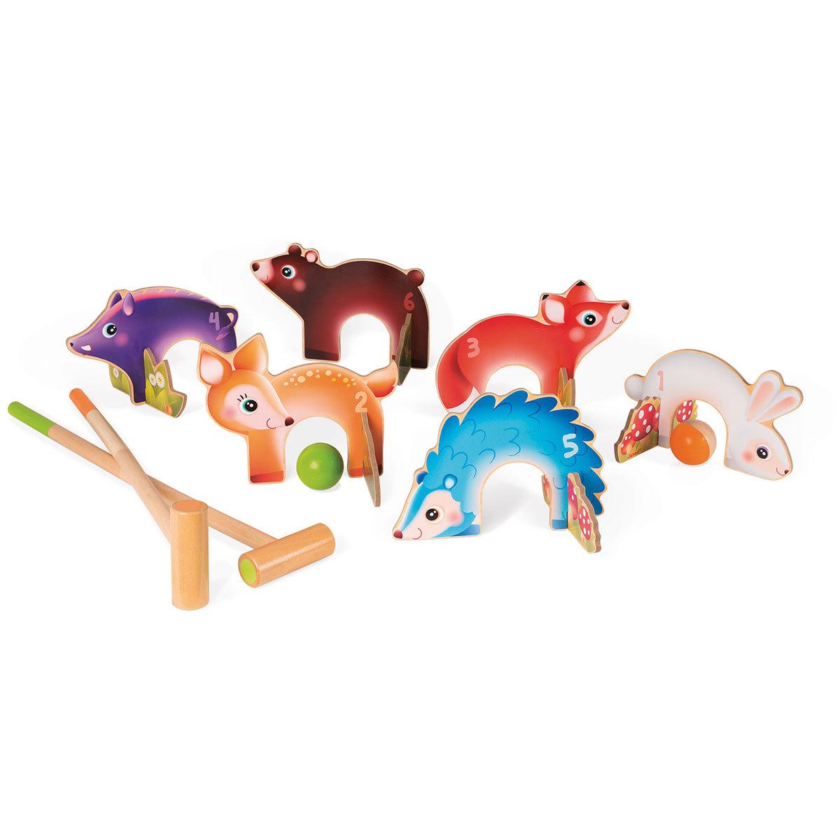 Mes premiers jouets Croquet Animaux de la Forêt Croquet Animaux de la Forêt