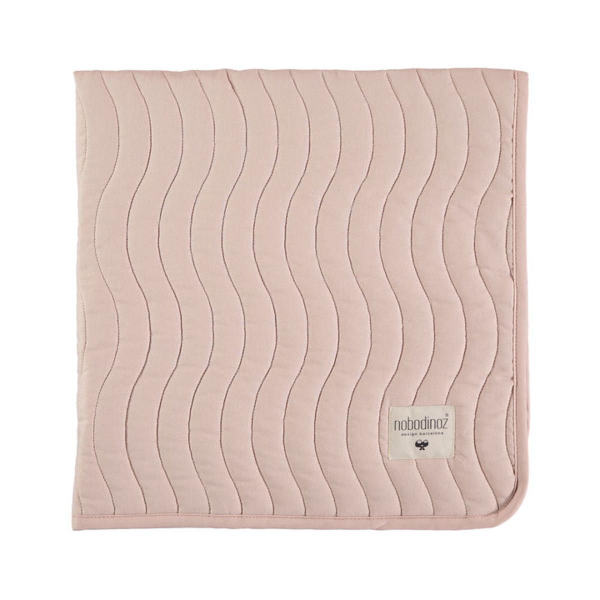 nobodinoz couverture reykjavik pure line rose p tale linge de lit nobodinoz sur l 39 armoire de. Black Bedroom Furniture Sets. Home Design Ideas