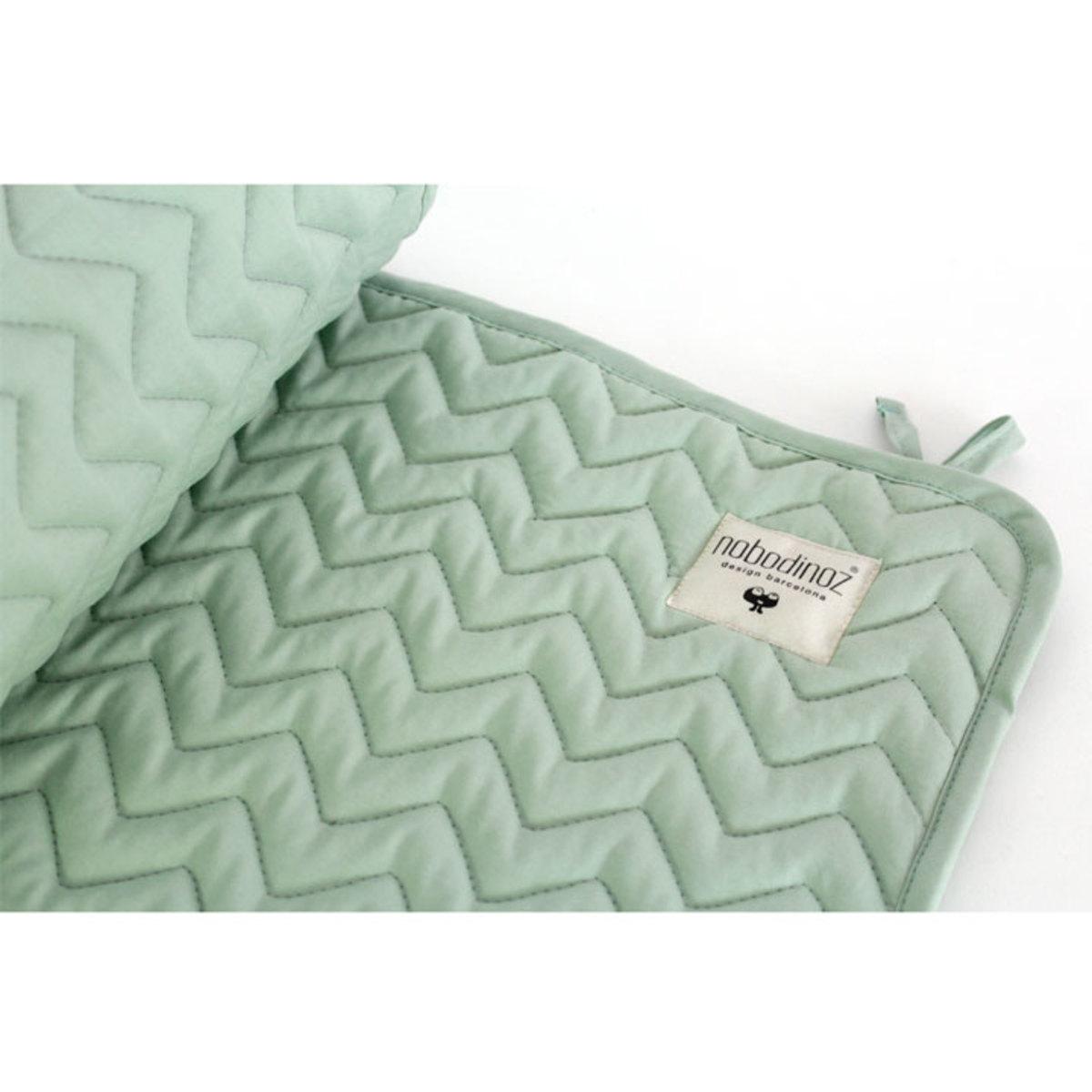 nobodinoz tour de lit alexandria pure line vert menthe linge de lit nobodinoz sur l 39 armoire. Black Bedroom Furniture Sets. Home Design Ideas